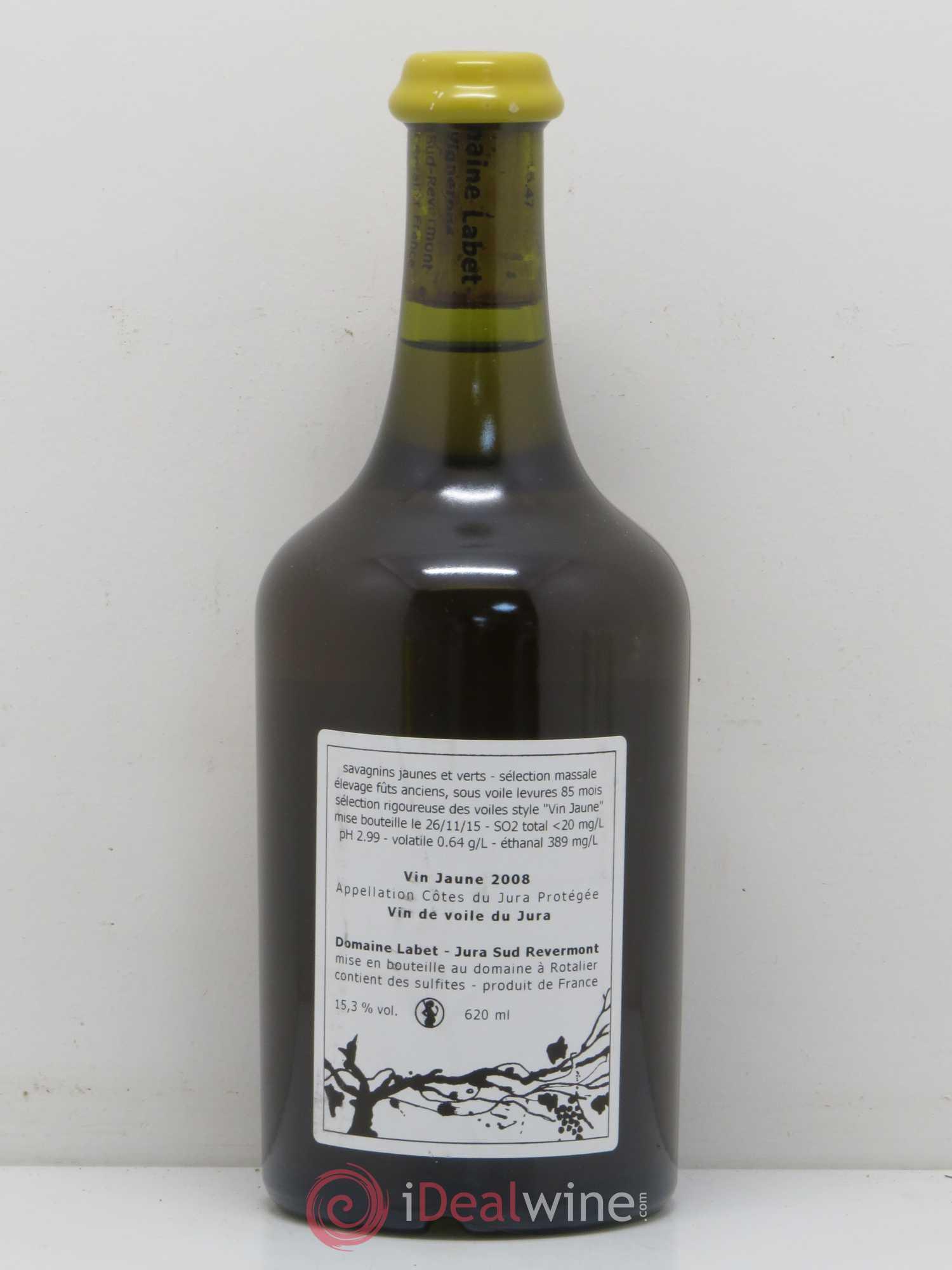 Vin jaune millesime 2008