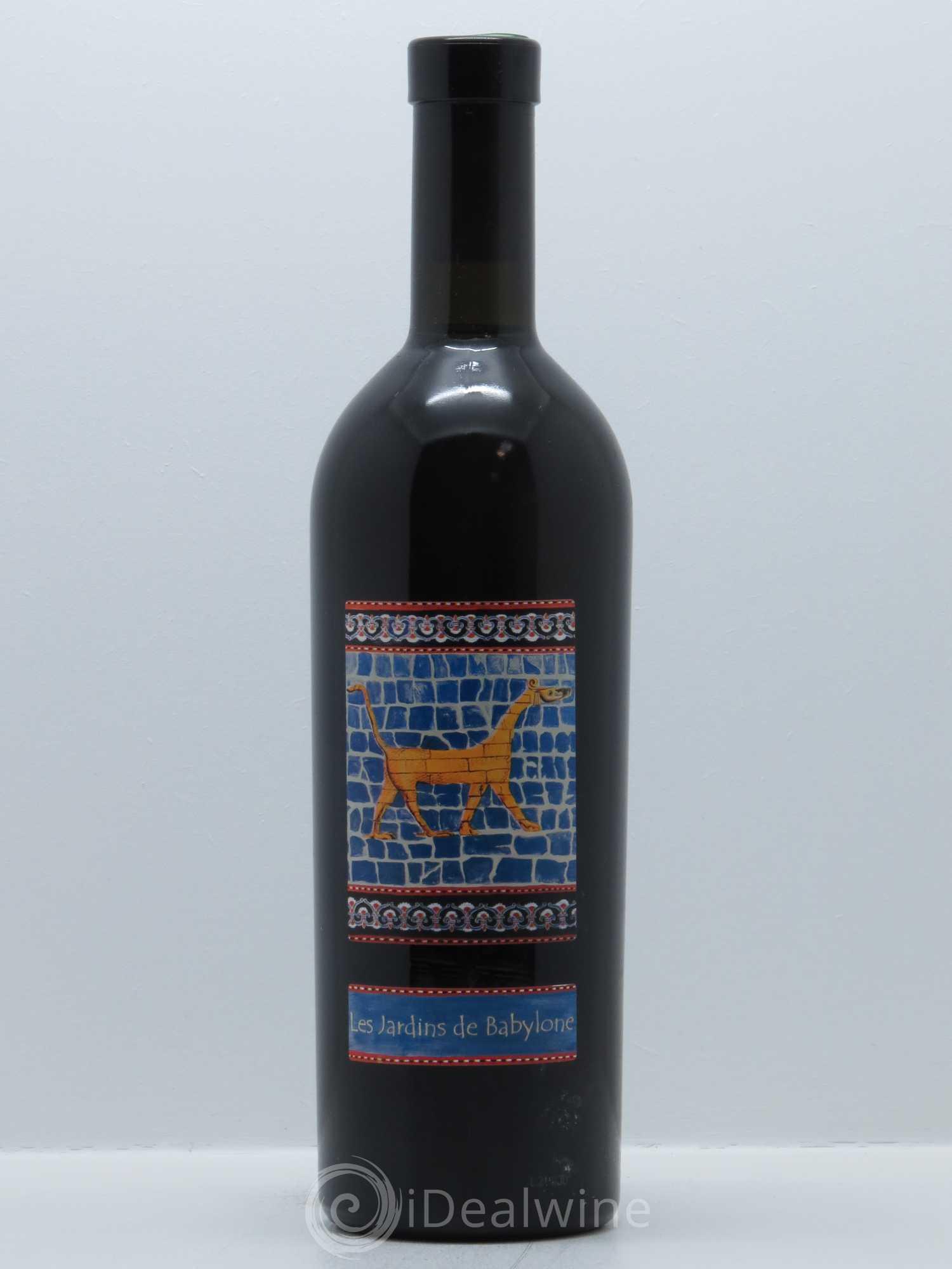 Liste des vins de juran on jardins de babylone didier for Jardin de babylone wine