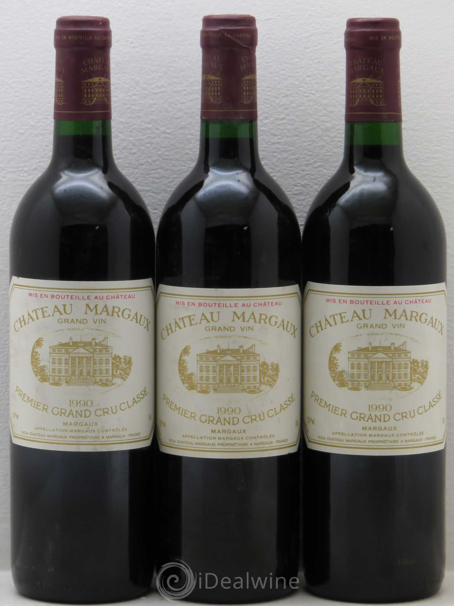 Buy ch teau margaux 1er grand cru class 1990 lot 6150 for Buy chateaubriand