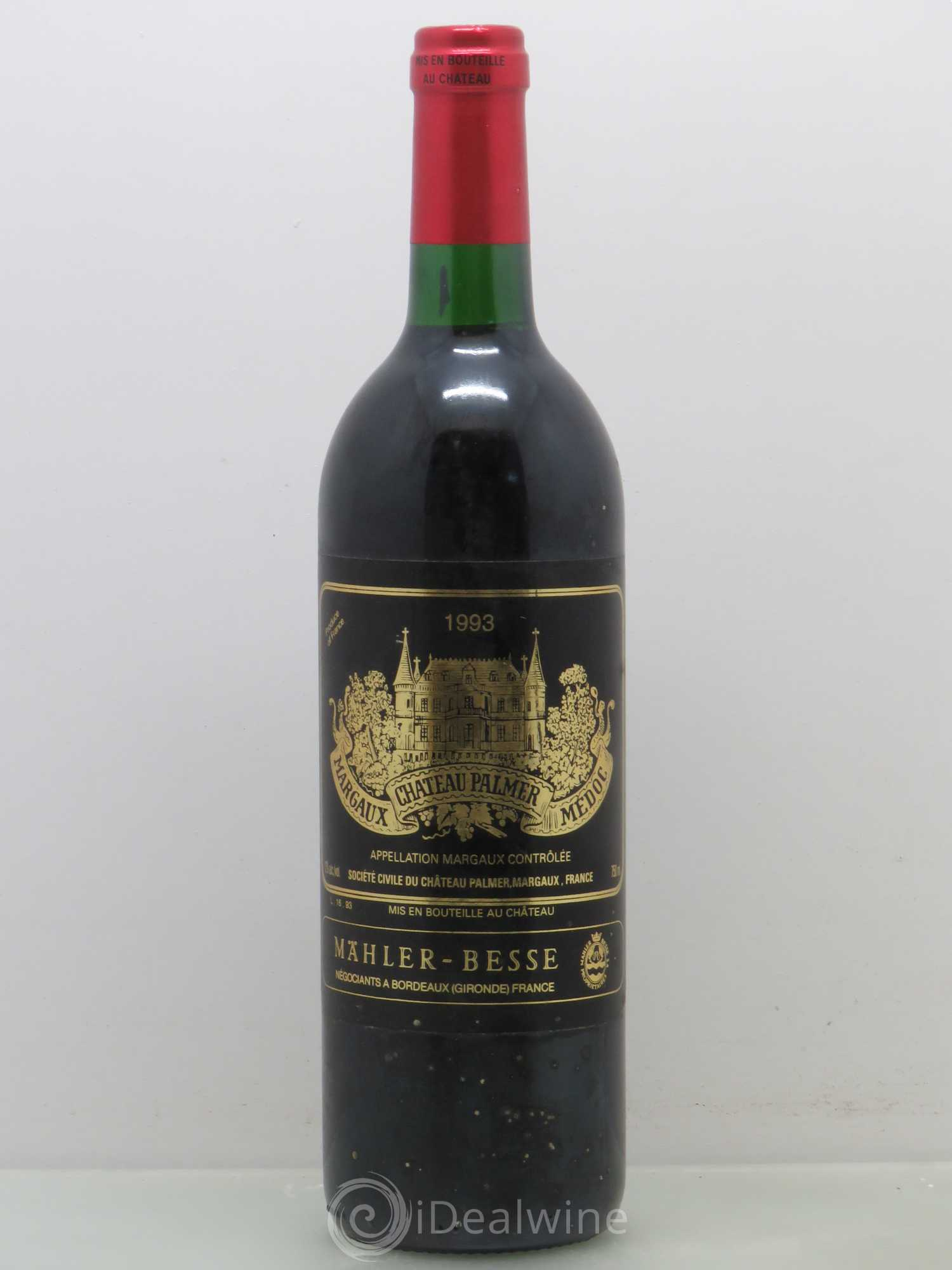 Buy ch teau palmer 3 me grand cru class 1993 lot 7146 for Buy chateaubriand
