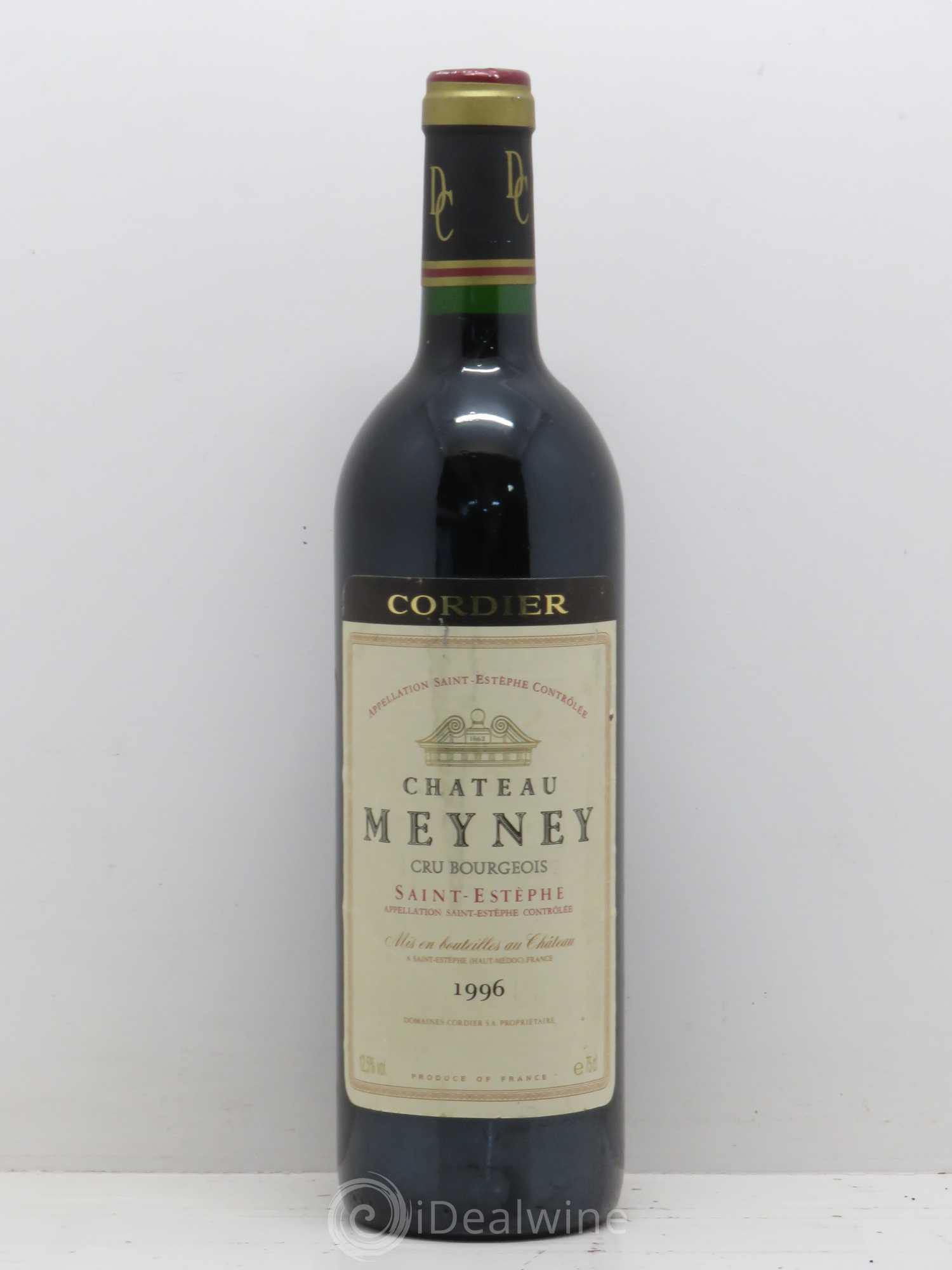Buy ch teau meyney cru bourgeois 1996 lot 11580 for Chateau meyney