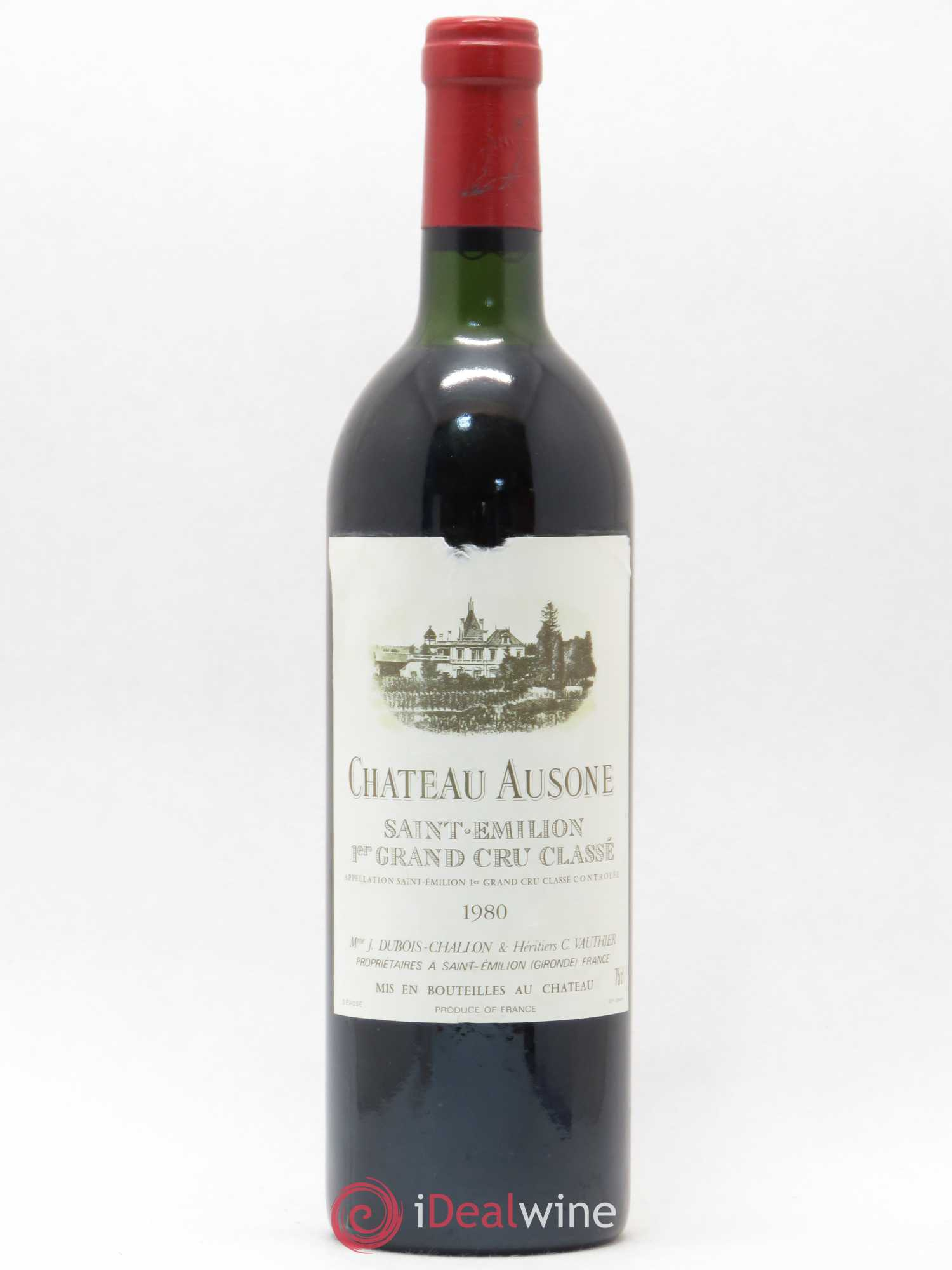 Château Ausone 1er Grand Cru Classé A  1980 - Lot of 1 Bottle