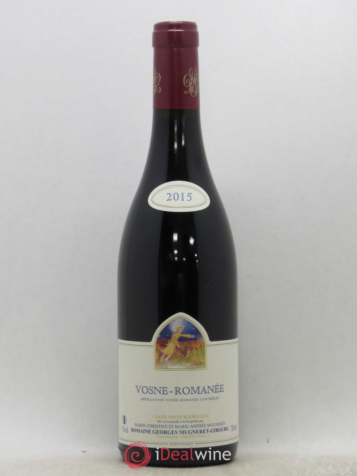 Vosne-Romanée Mugneret-Gibourg (Domaine)  2015 - Lot of 1 Bottle