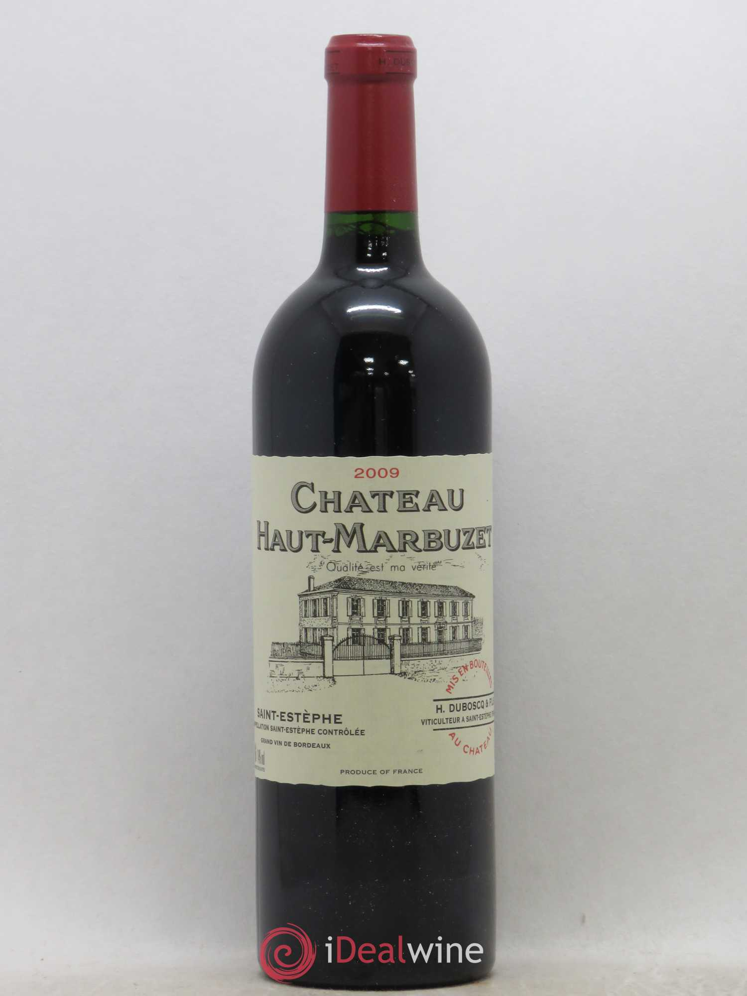 Château Haut Marbuzet  2009 - Lot of 1 Bottle