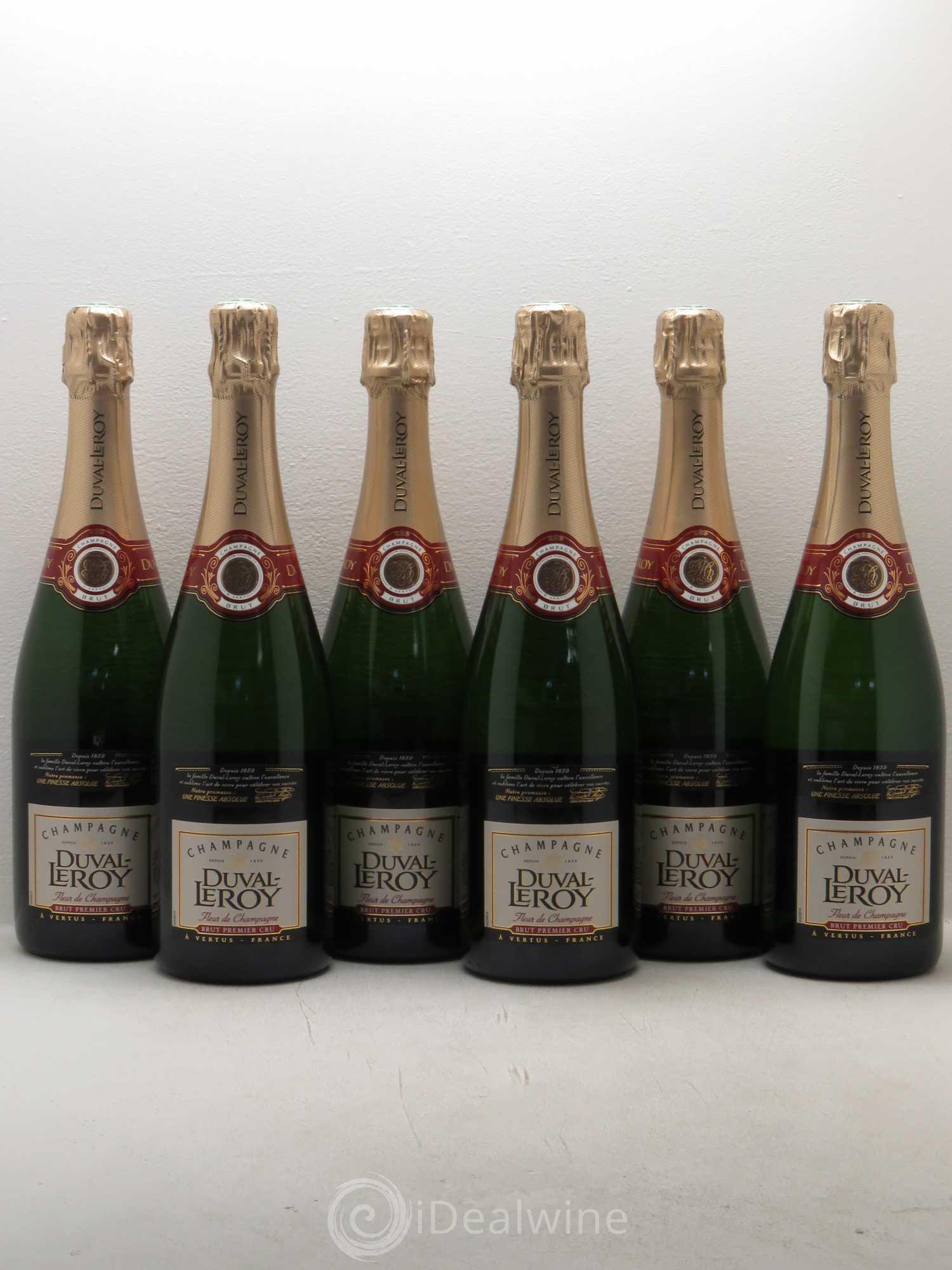 acheter brut champagne duval leroy fleur de champagne 1er cru brut lot 1098. Black Bedroom Furniture Sets. Home Design Ideas