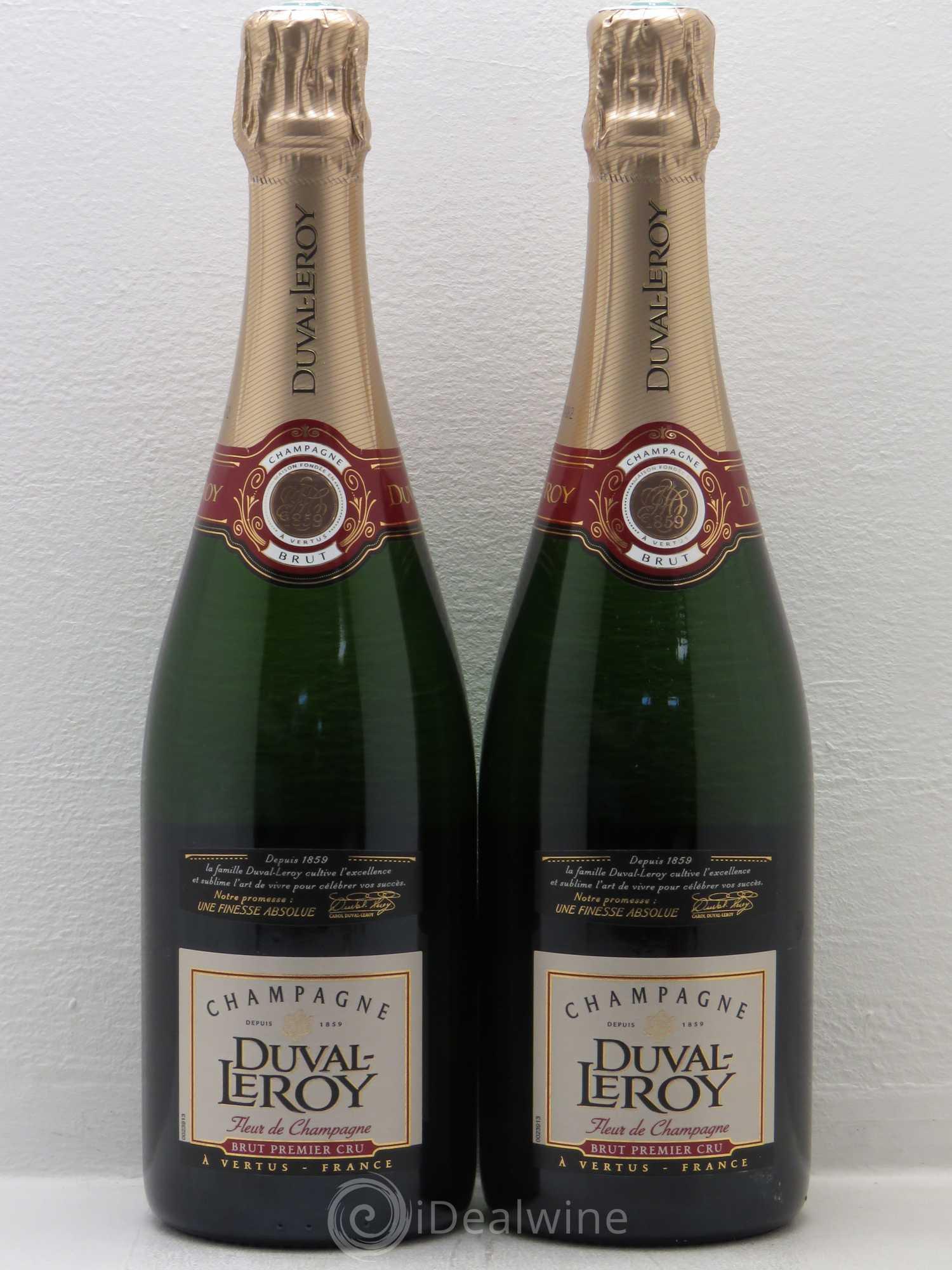 acheter brut champagne duval leroy fleur de champagne 1er cru brut lot 1203. Black Bedroom Furniture Sets. Home Design Ideas