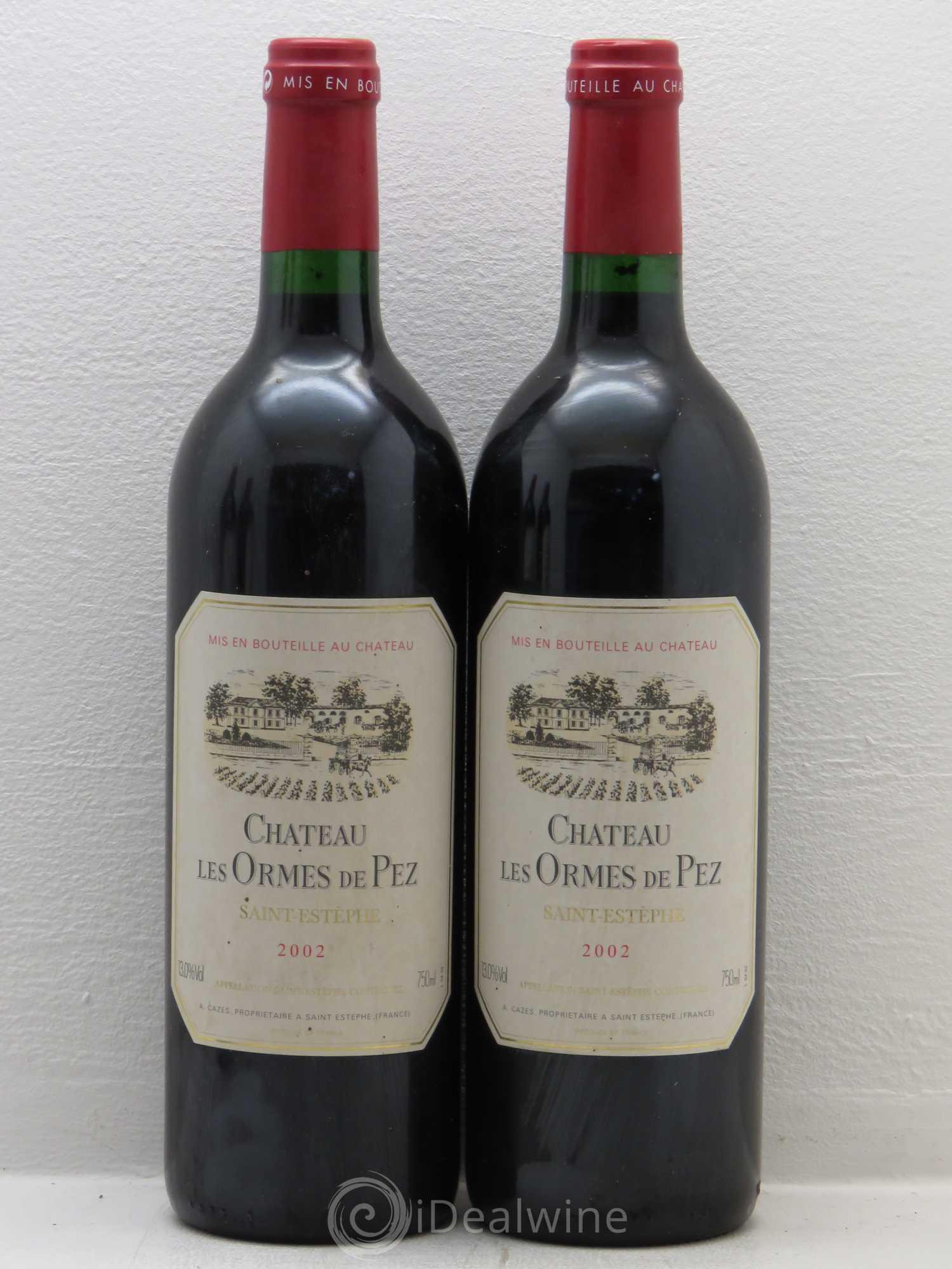 Buy ch teau les ormes de pez 2002 lot 6095 for Buy chateaubriand