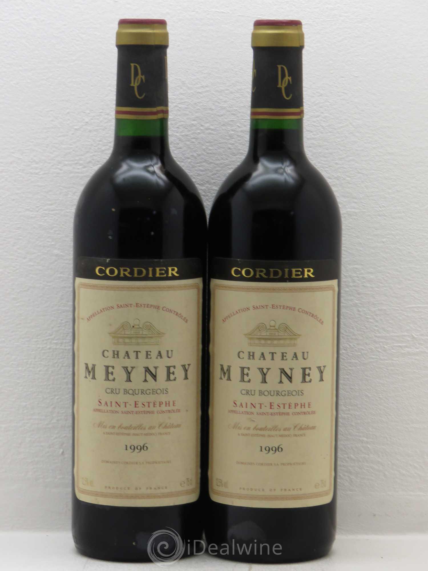Acheter ch teau meyney cru bourgeois 1996 lot 5553 for Chateau meyney