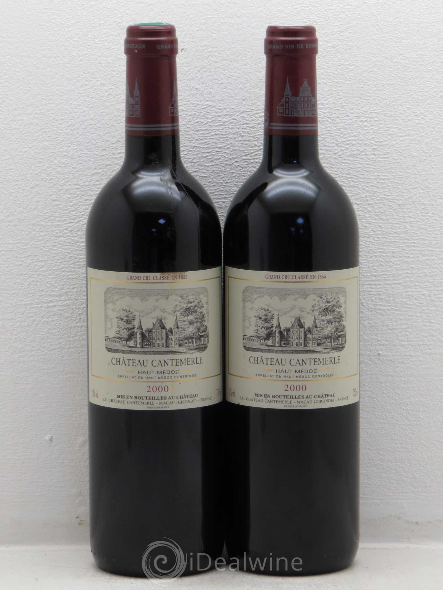 Buy ch teau cantemerle 5 me grand cru class 2000 lot 6155 for Buy chateaubriand