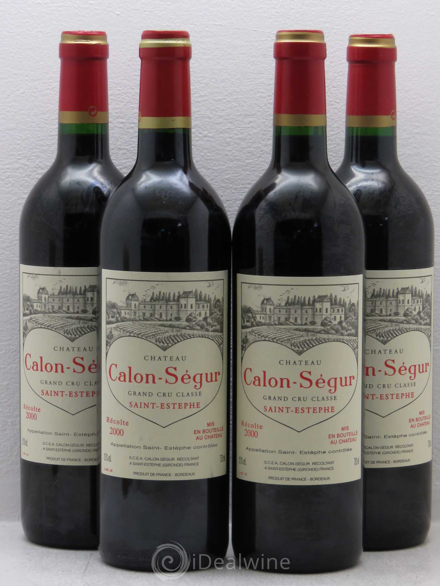 Buy ch teau calon s gur 3 me grand cru class 2000 lot 7016 for Buy chateaubriand