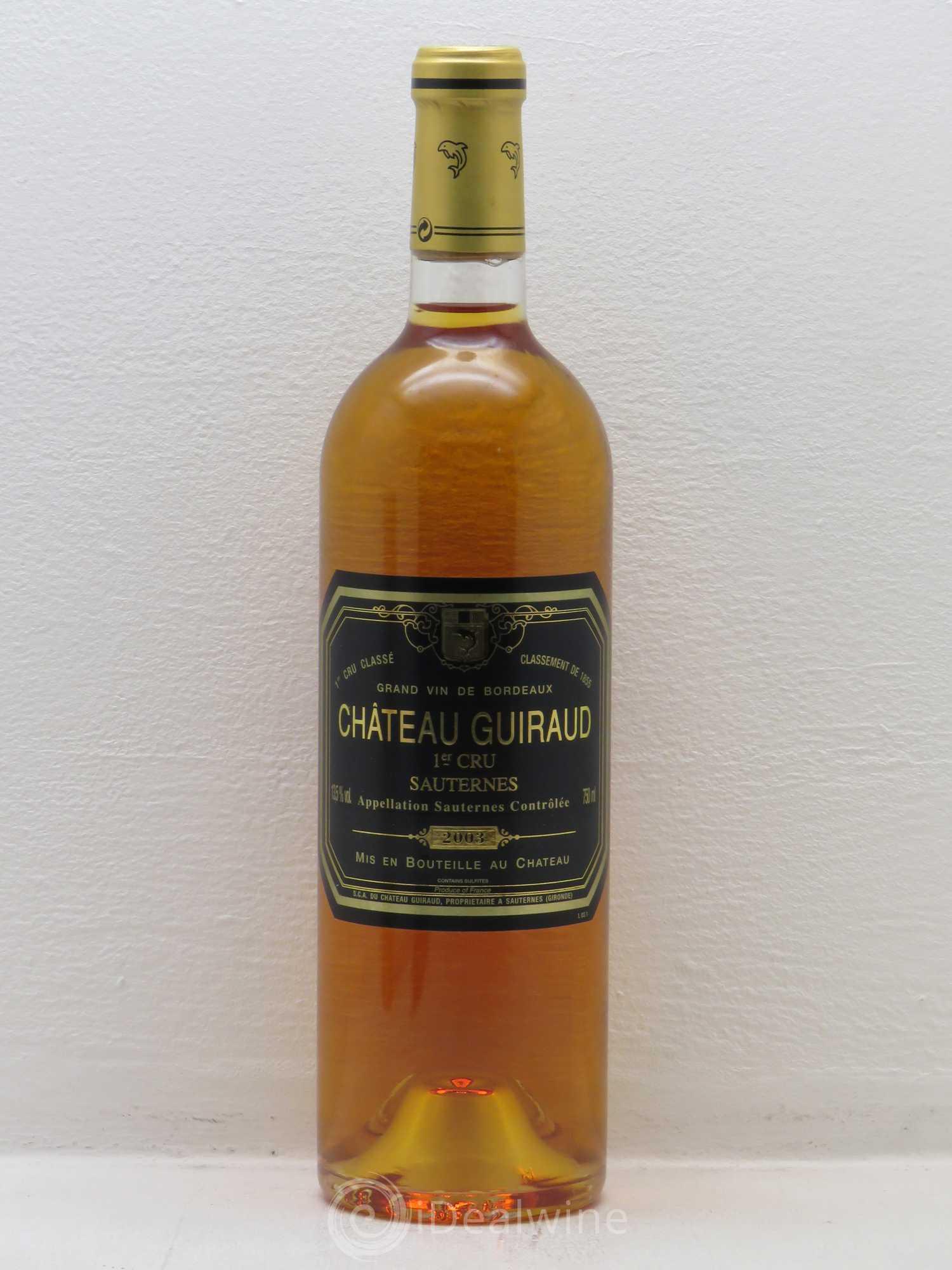 Chteau Guiraud 1er Grand Cru Class 2003