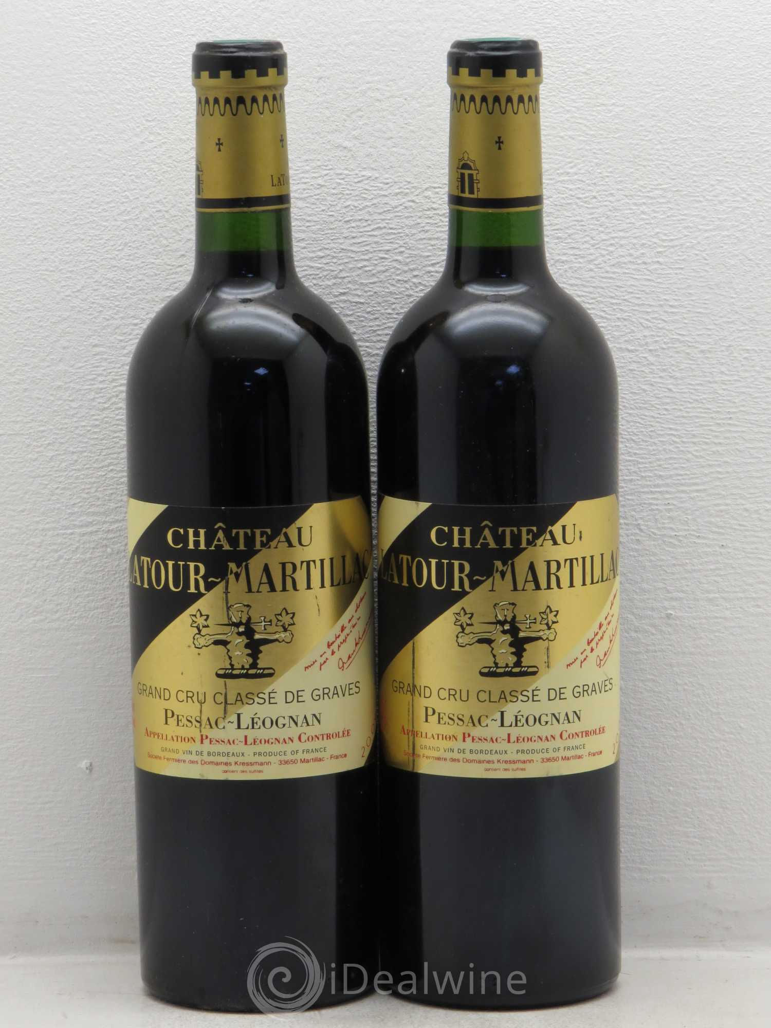 acheter ch teau latour martillac cru class de graves 2004 lot 7582. Black Bedroom Furniture Sets. Home Design Ideas