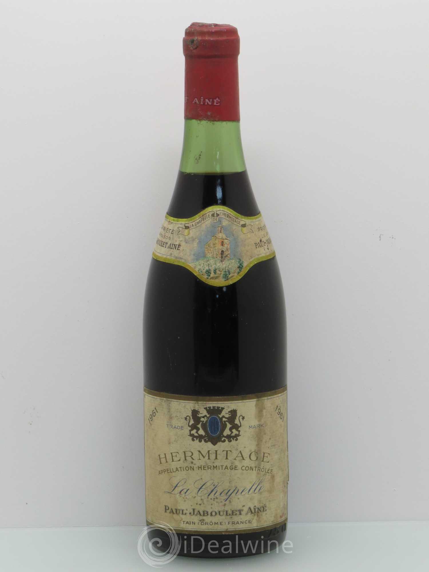 mas de la chapelle interview proprietaire. Hermitage La Chapelle Paul Jaboulet Aîné 1961 - Lot Of 1 Bottle Mas De Interview Proprietaire 4