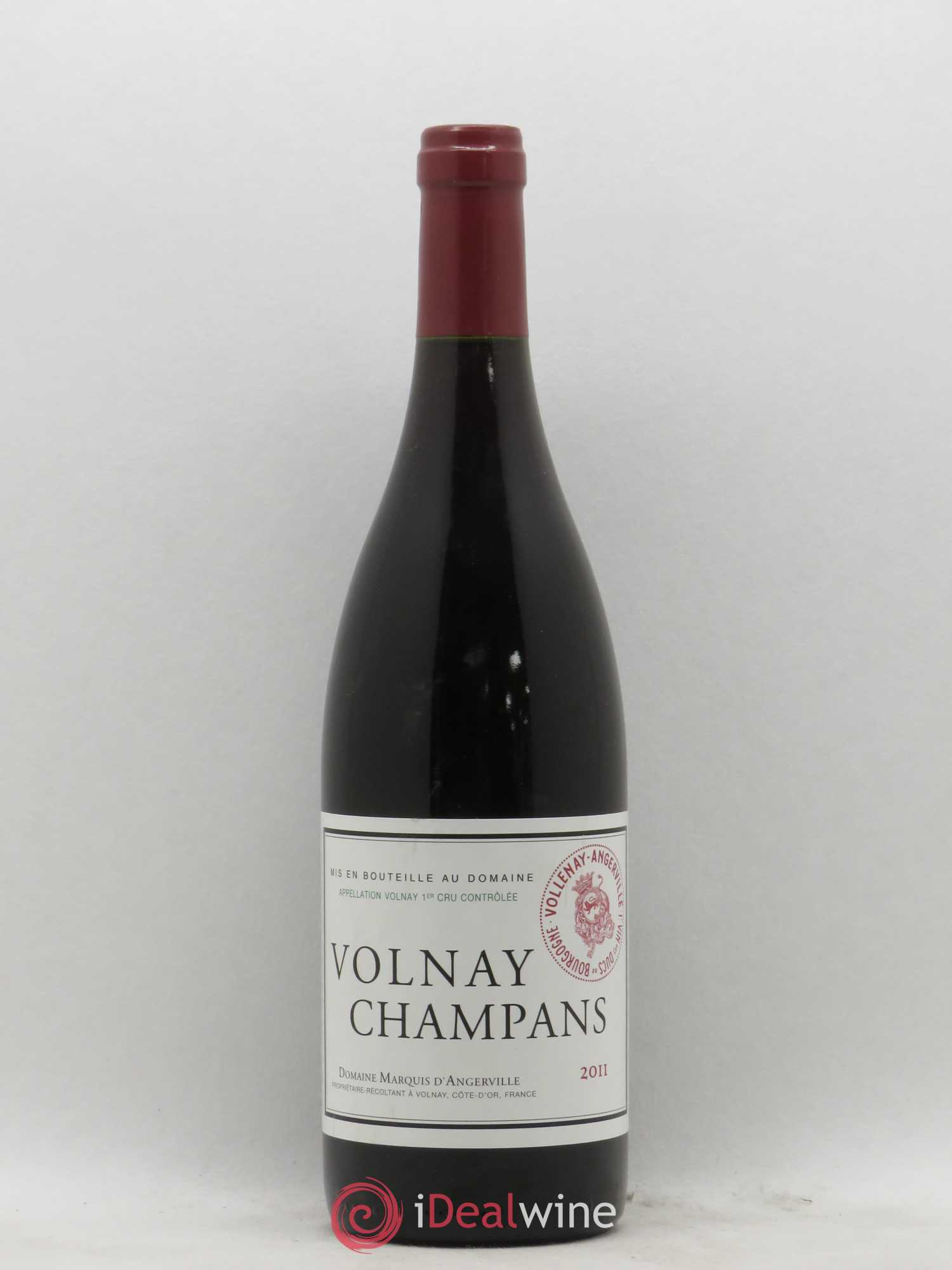 Volnay 1er Cru Champans Marquis d'Angerville (Domaine)  2011 - Lot of 1 Bottle