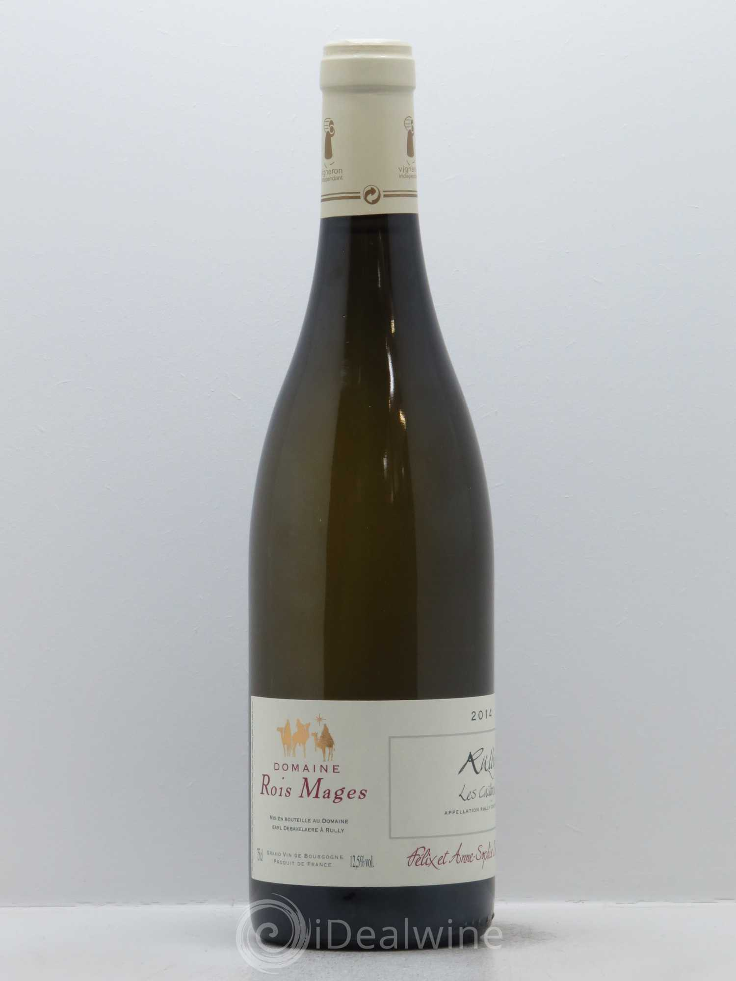 Acheter rully les cailloux rois mages domaine 2014 lot for Achat cailloux blanc