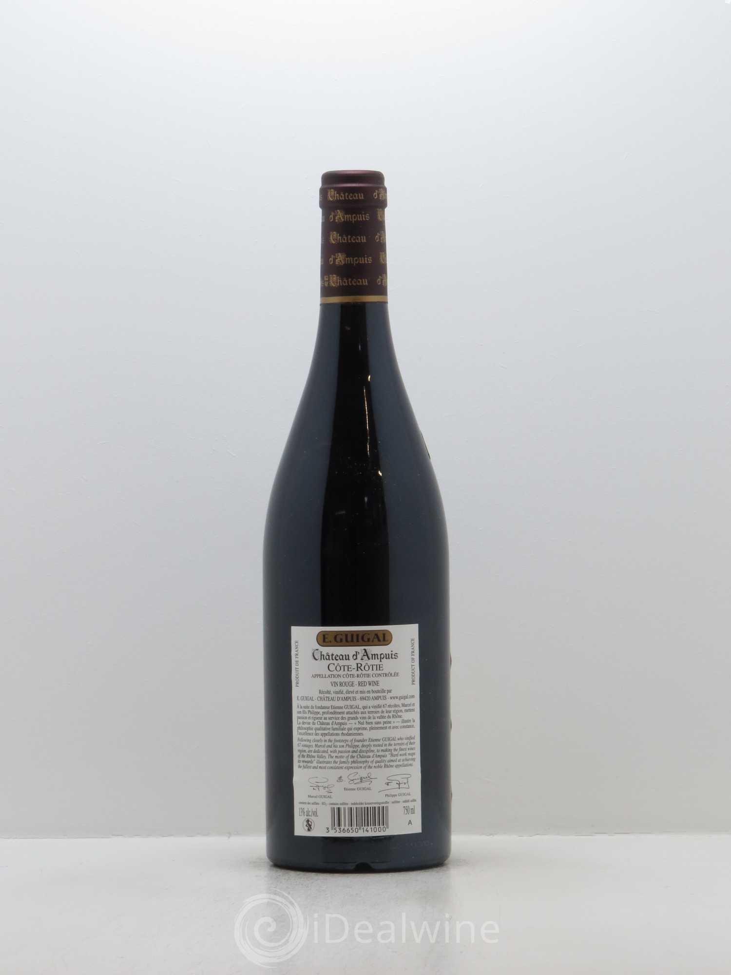 Acheter c te r tie ch teau d 39 ampuis guigal 2008 lot 5473 - Salon des vins ampuis ...