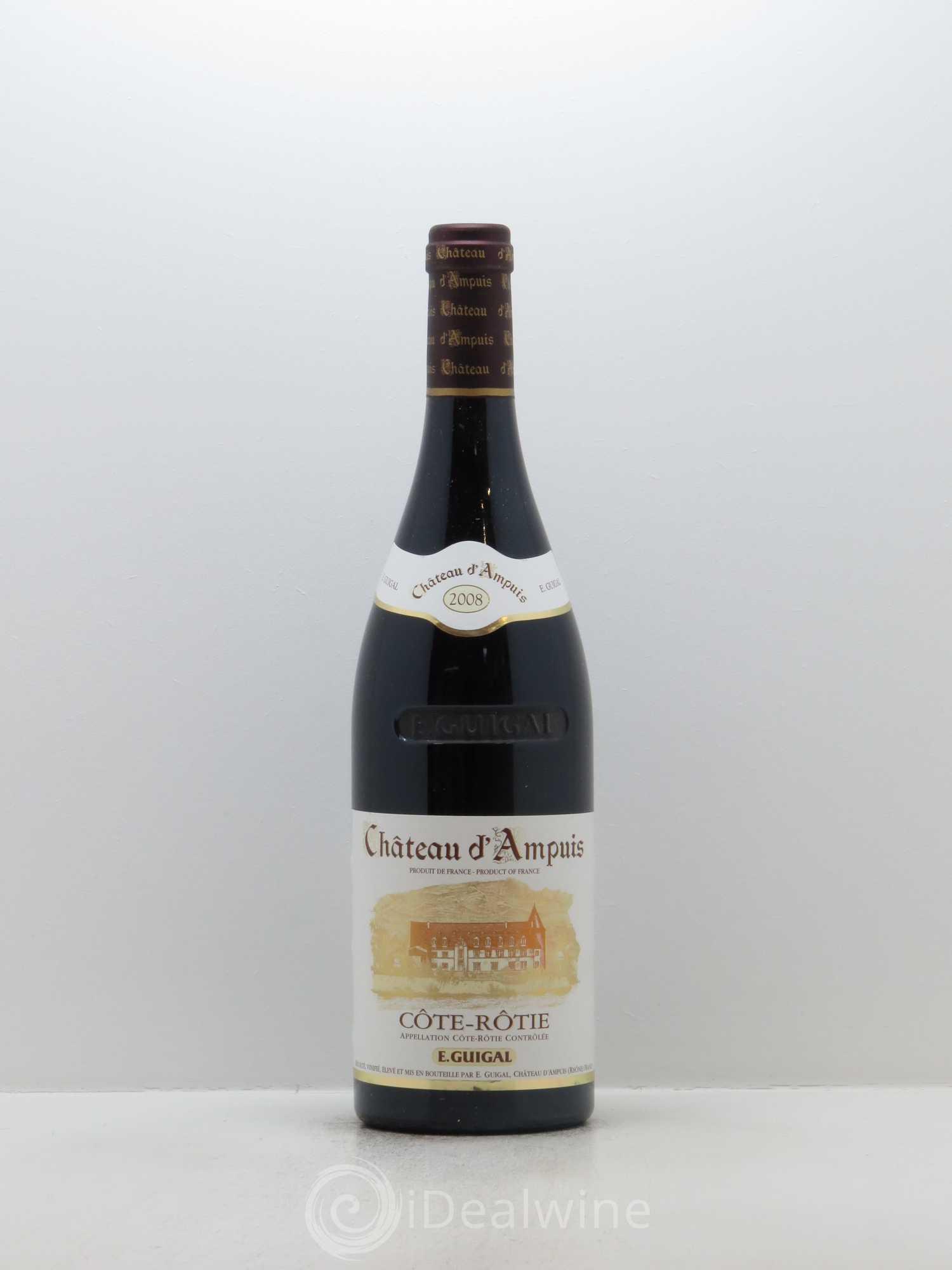 Acheter c te r tie ch teau d 39 ampuis guigal 2008 lot 14060 - Salon des vins ampuis ...