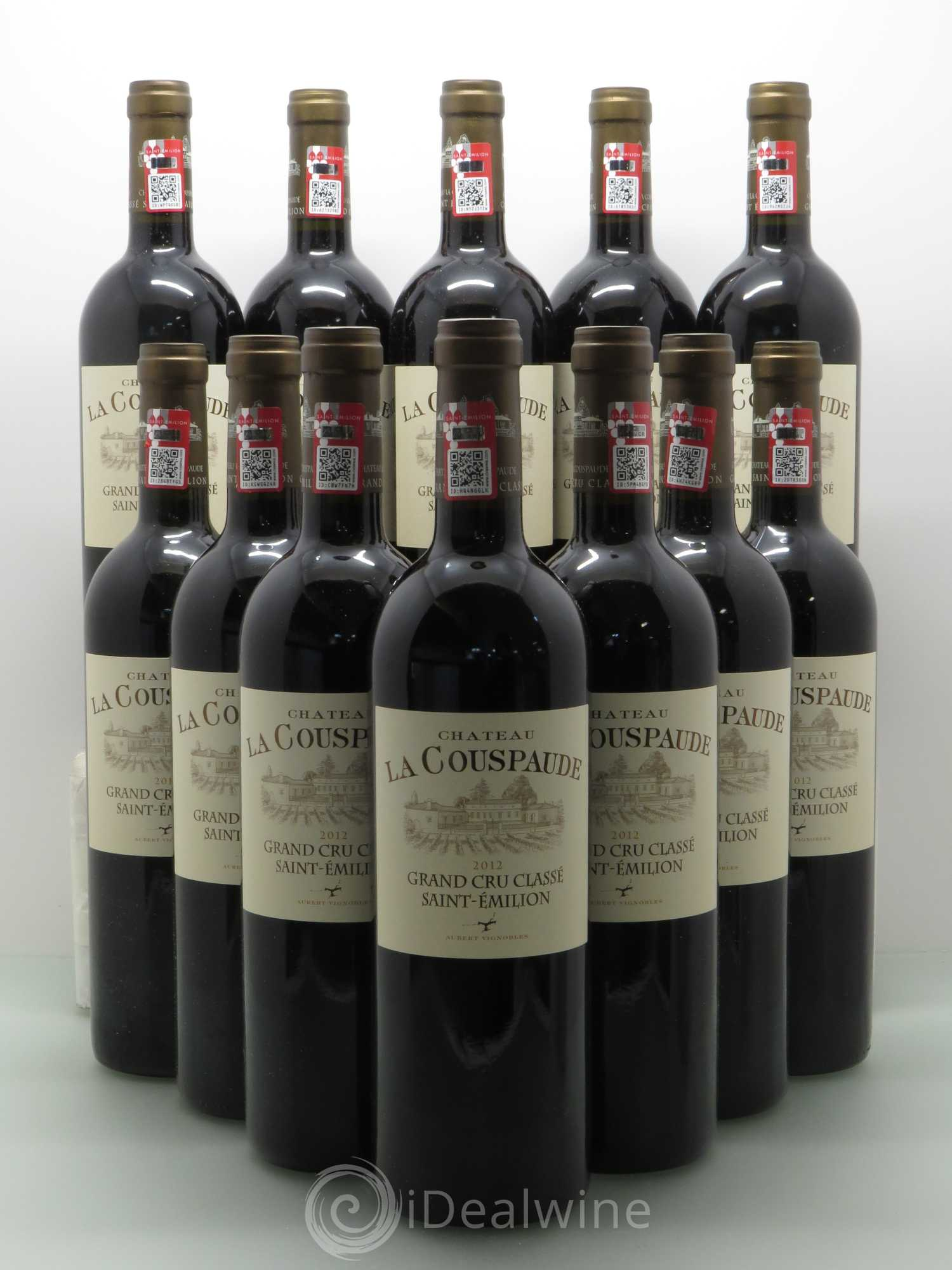 Buy Château la Couspaude Grand Cru Classé 2012 (lot: 1976)