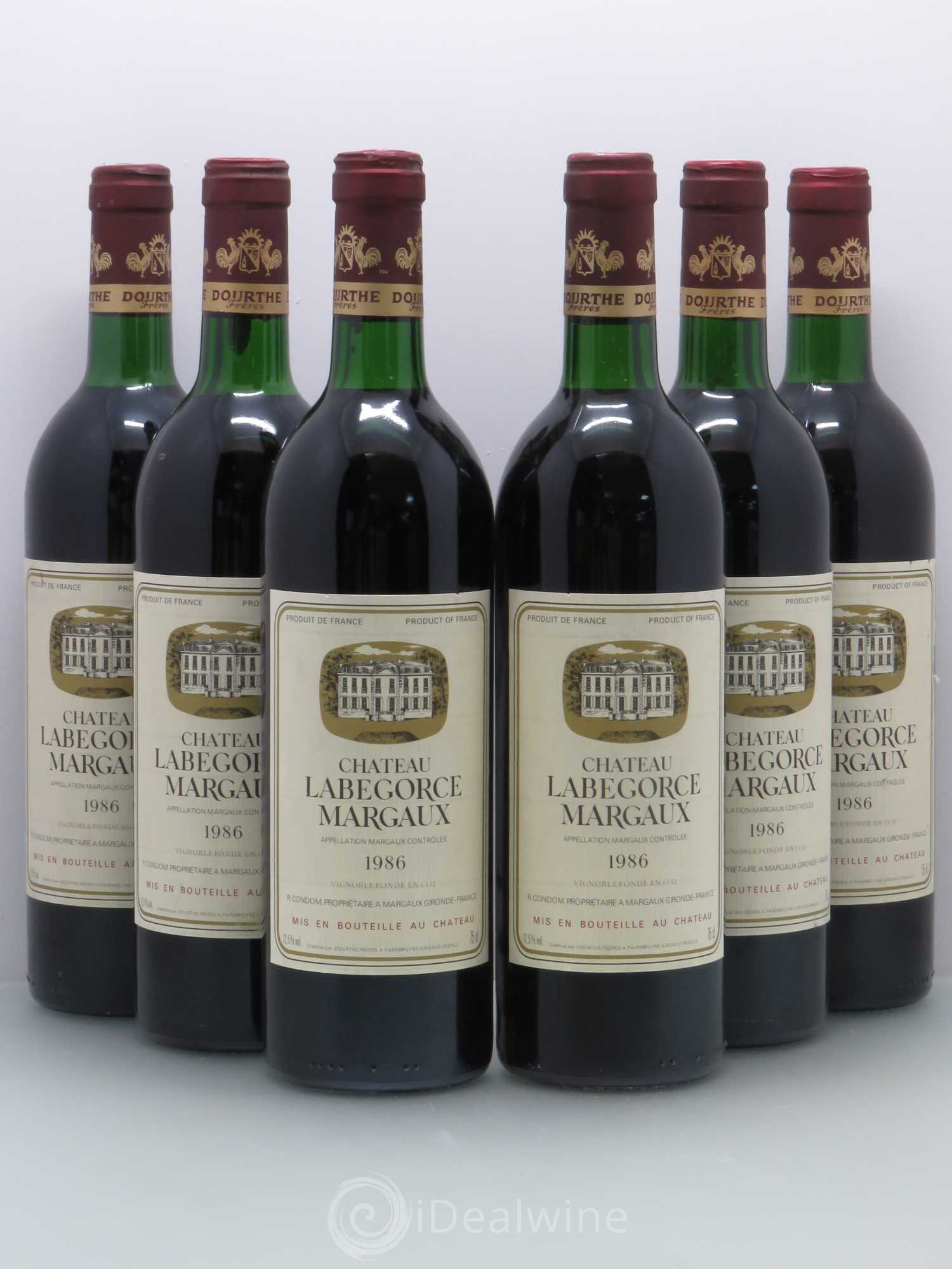 Buy ch teau labegorce cru bourgeois 1986 lot 5595 for Buy chateaubriand
