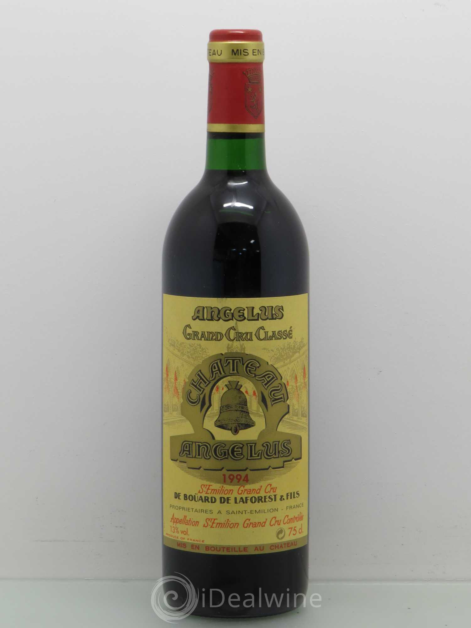 Buy ch teau ang lus 1er grand cru class a 1994 lot 7000 for Chateau angelus