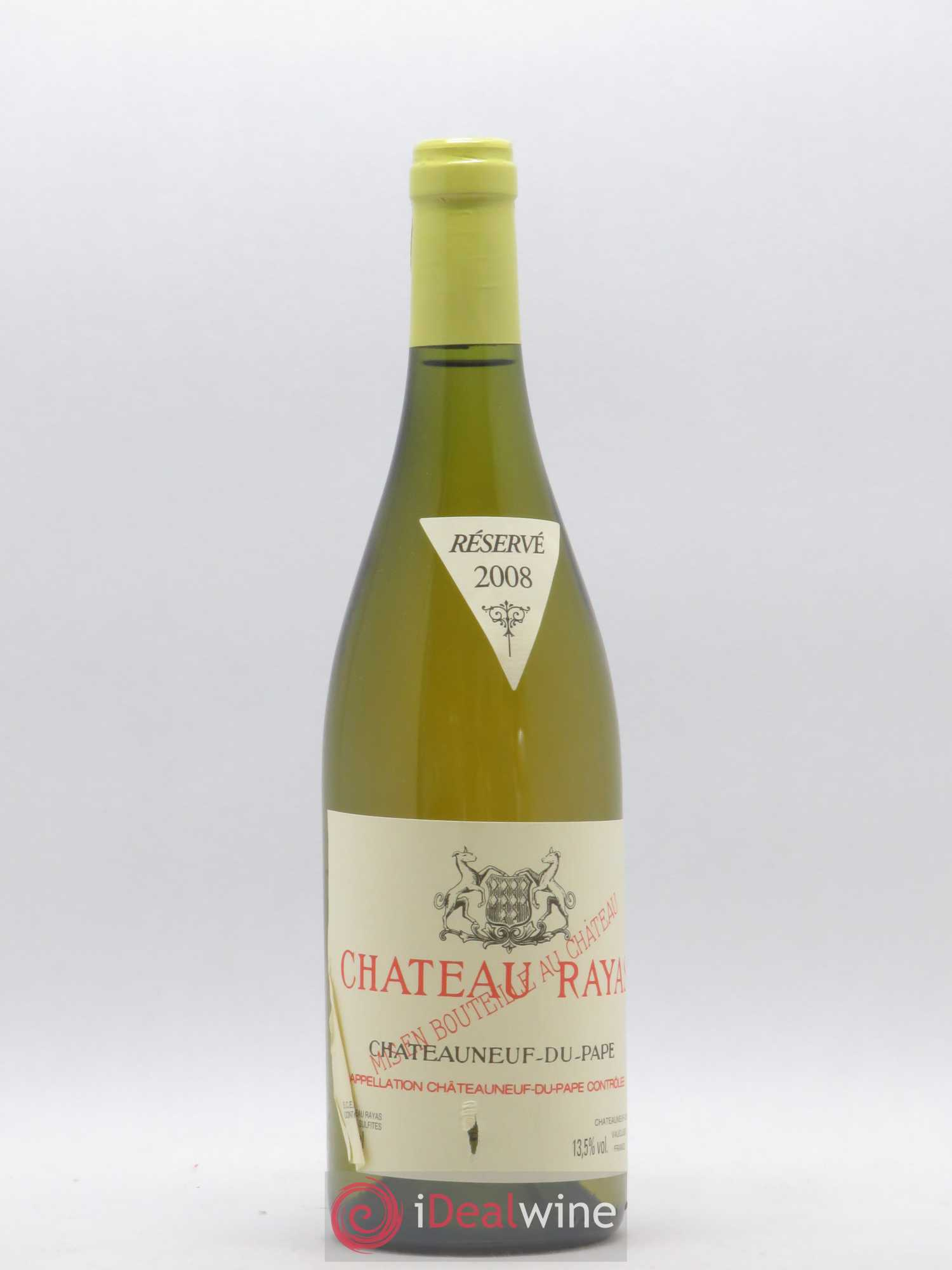 Châteauneuf-du-Pape Château Rayas Reynaud  2008 - Lot of 1 Bottle