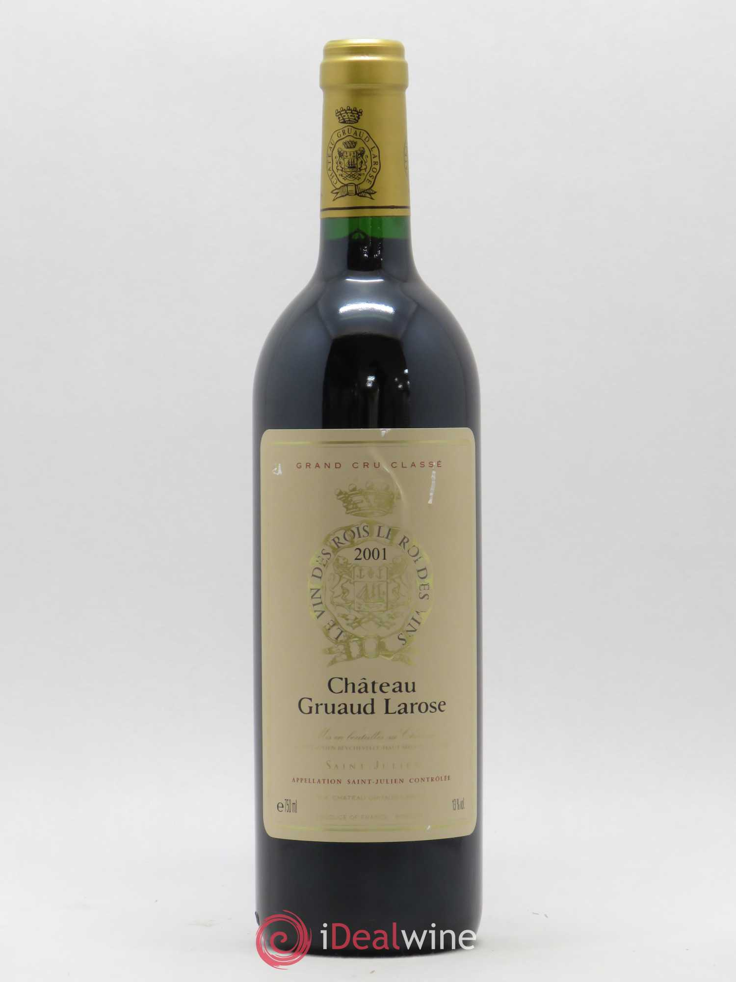 Château Gruaud Larose 2ème Grand Cru Classé  2001 - Lot of 1 Bottle