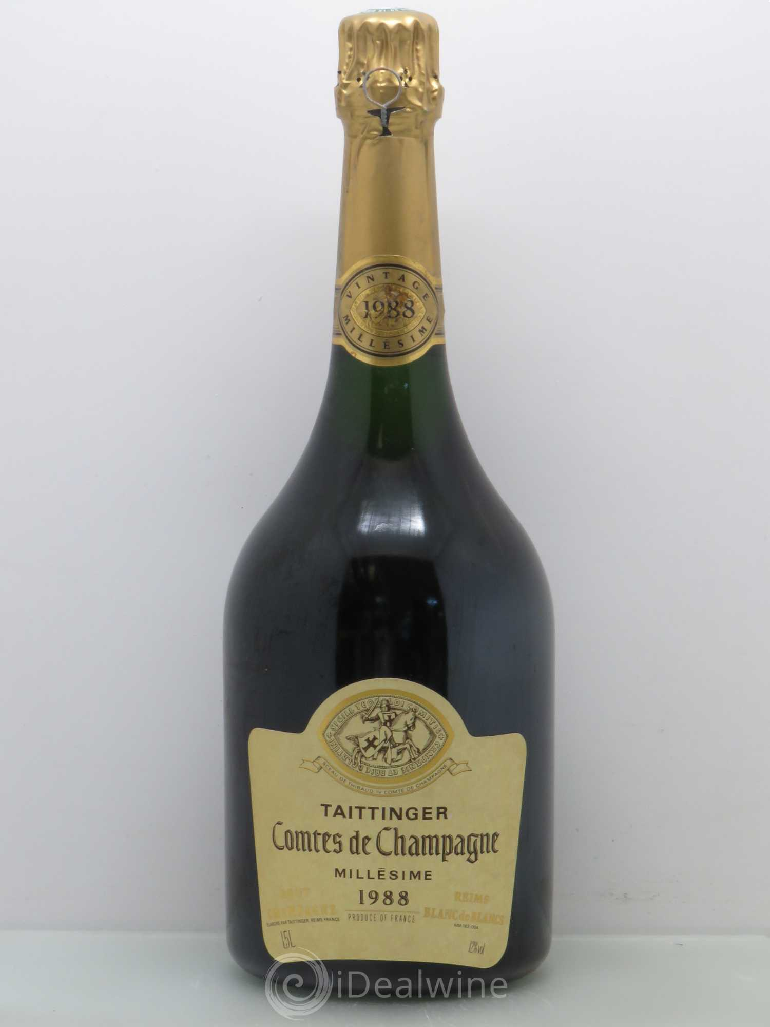 acheter comtes de champagne champagne taittinger 1988 lot 2031. Black Bedroom Furniture Sets. Home Design Ideas