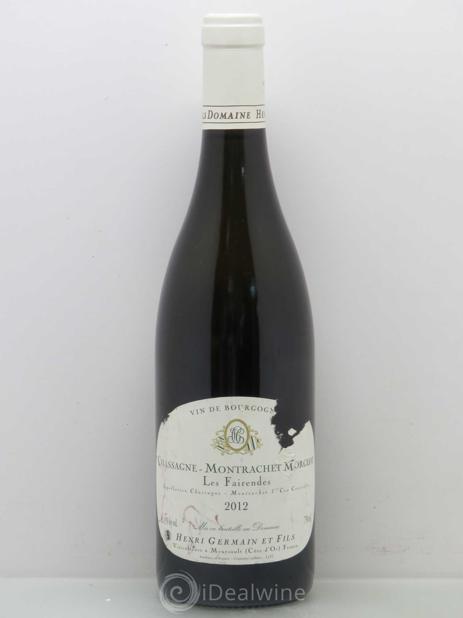 champagne h germain 1989