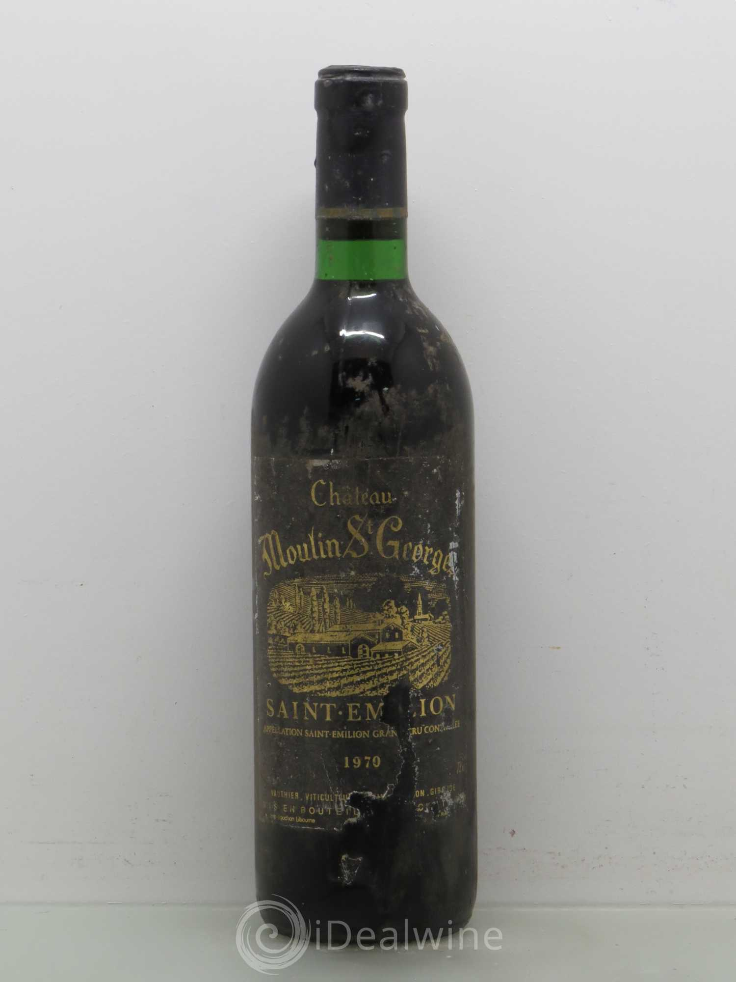 Buy ch teau moulin saint georges grand cru 1970 lot 7729 for Buy chateaubriand