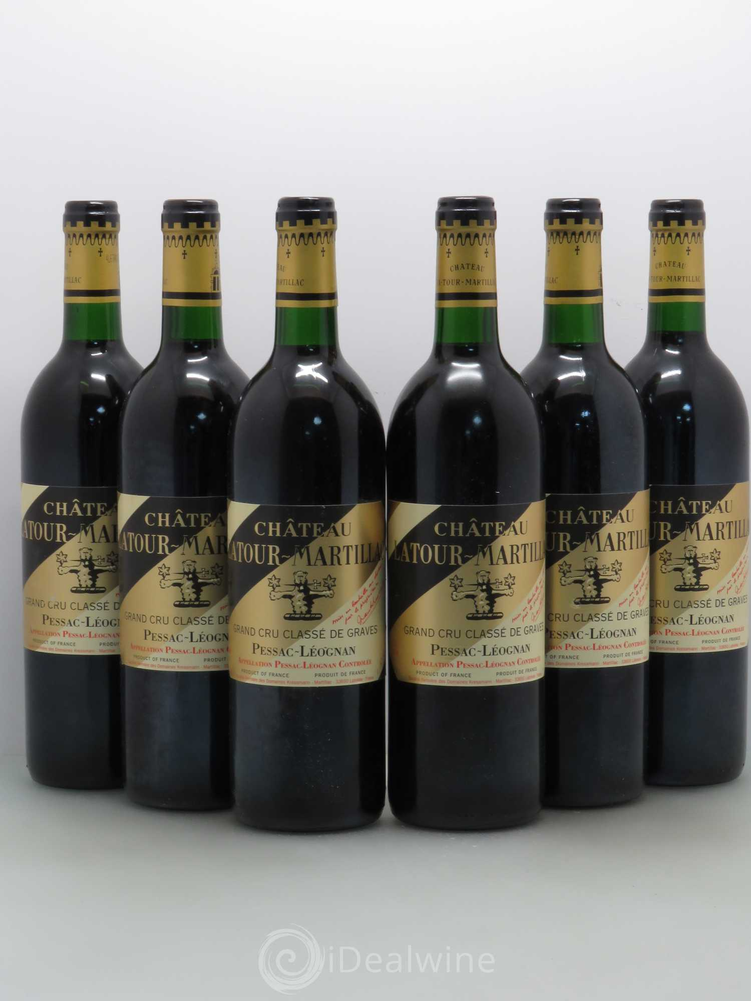acheter ch teau latour martillac cru class de graves 1993 lot 6626. Black Bedroom Furniture Sets. Home Design Ideas