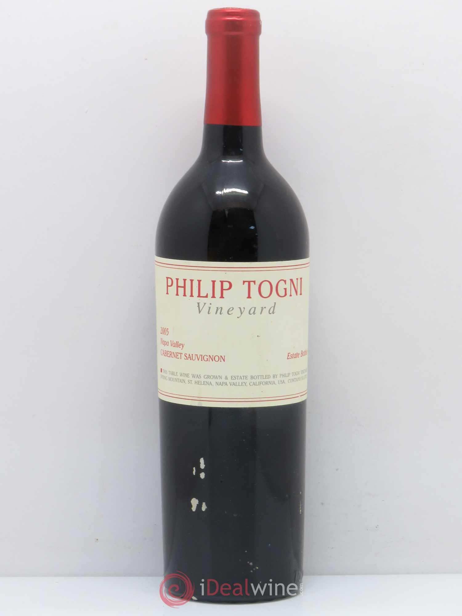 Buy USA Philip Togni Vineyard Cabernet Sauvignon Napa Valley California  2005 (lot: 201)