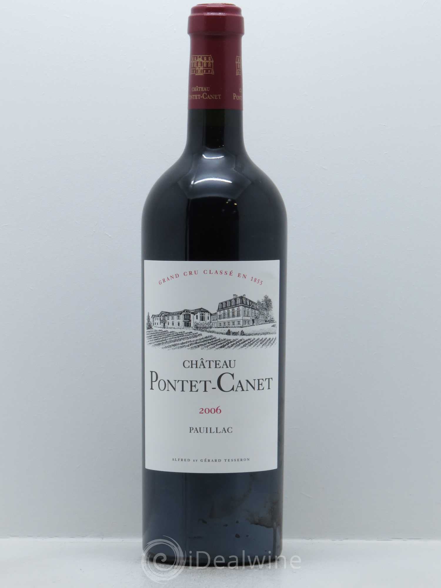Château Pontet Canet 5ème Grand Cru Classé  2006 - Lot of 1 Bottle