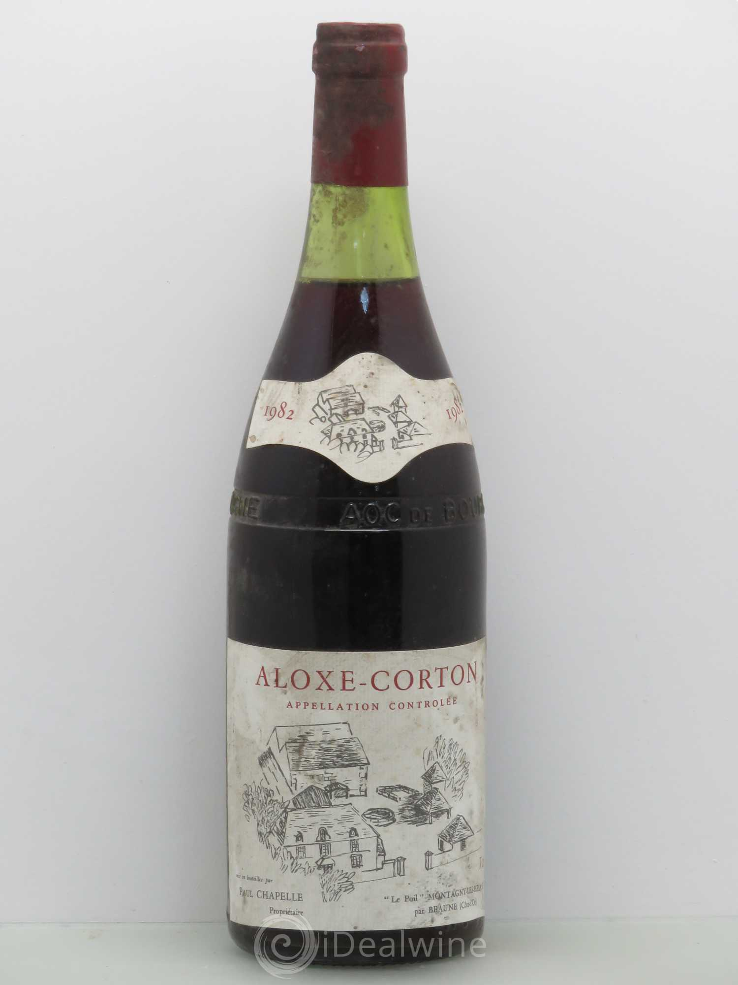 Aloxe-Corton Paul Chapelle 1982 - Lot de 1 Bouteille