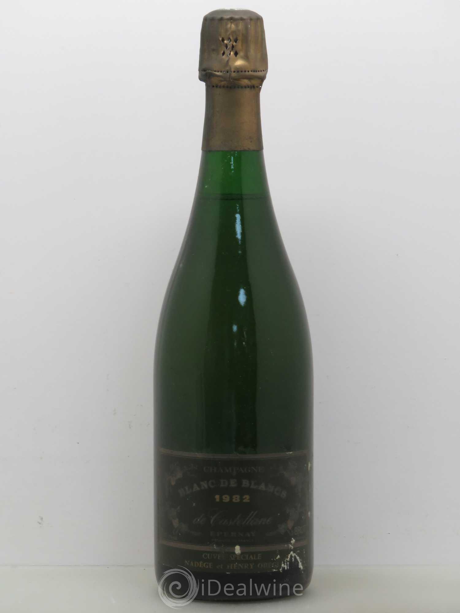 Champagne castellane millesime 2010