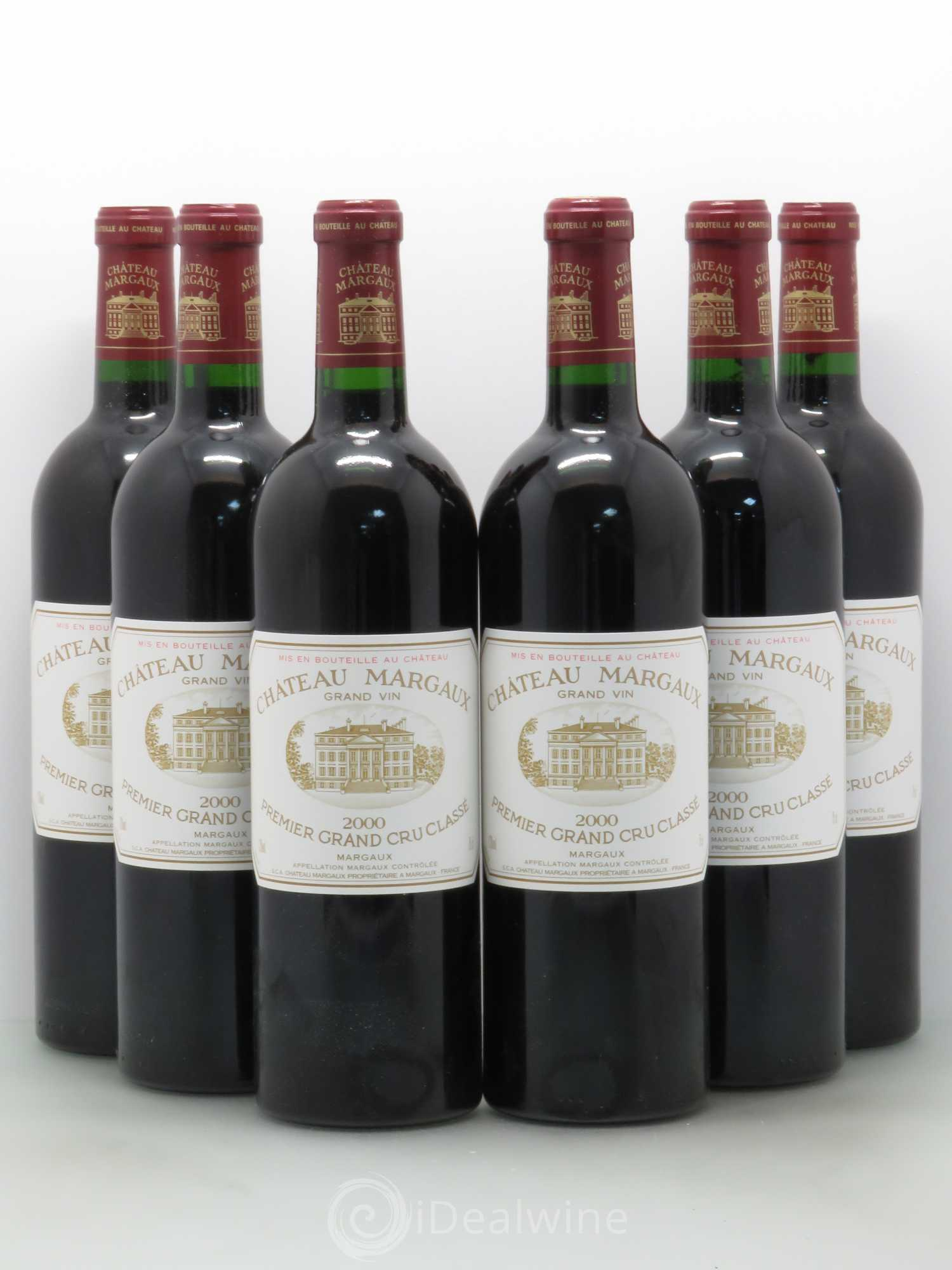 Buy ch teau margaux 1er grand cru class 2000 lot 9676 for Buy chateaubriand
