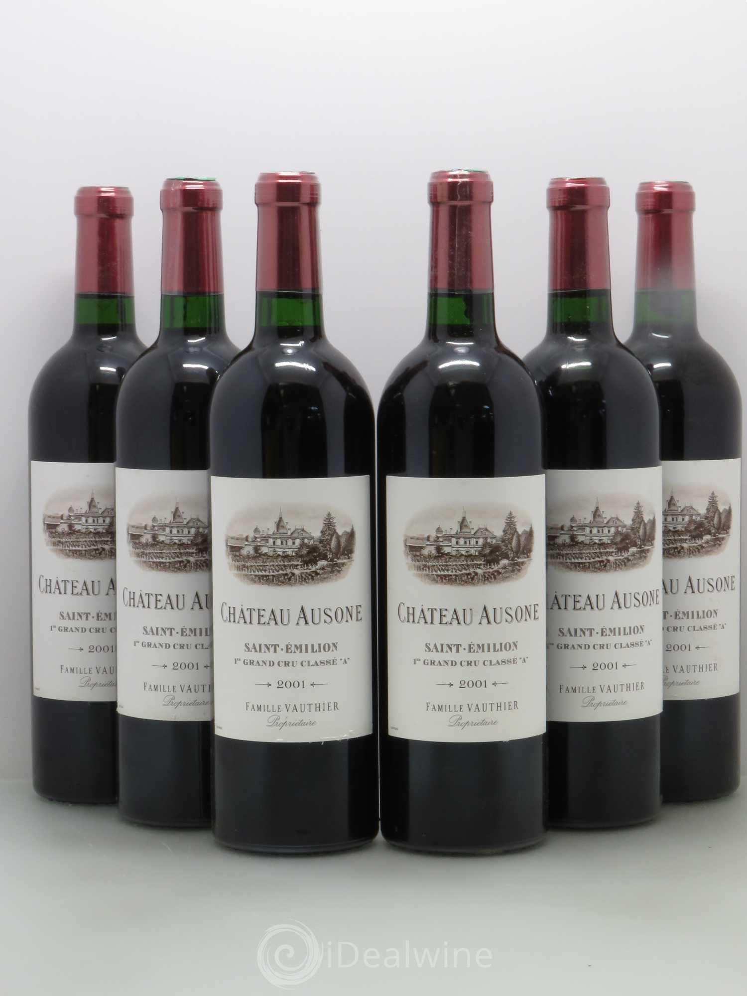 Buy ch teau ausone 1er grand cru class a 2001 lot 11501 for Buy chateaubriand
