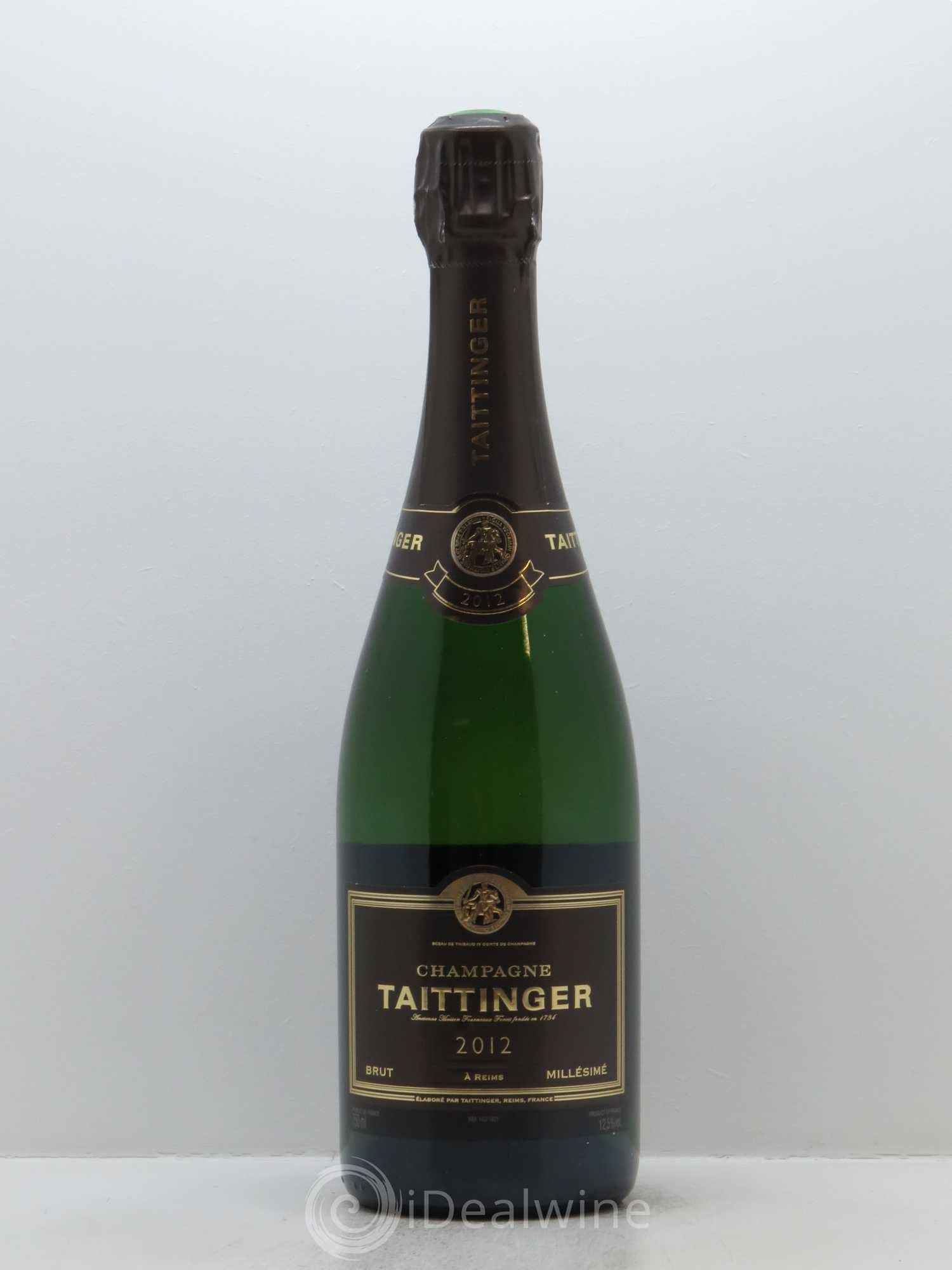 Brut Champagne Taittinger  2012 - Lot of 1 Bottle