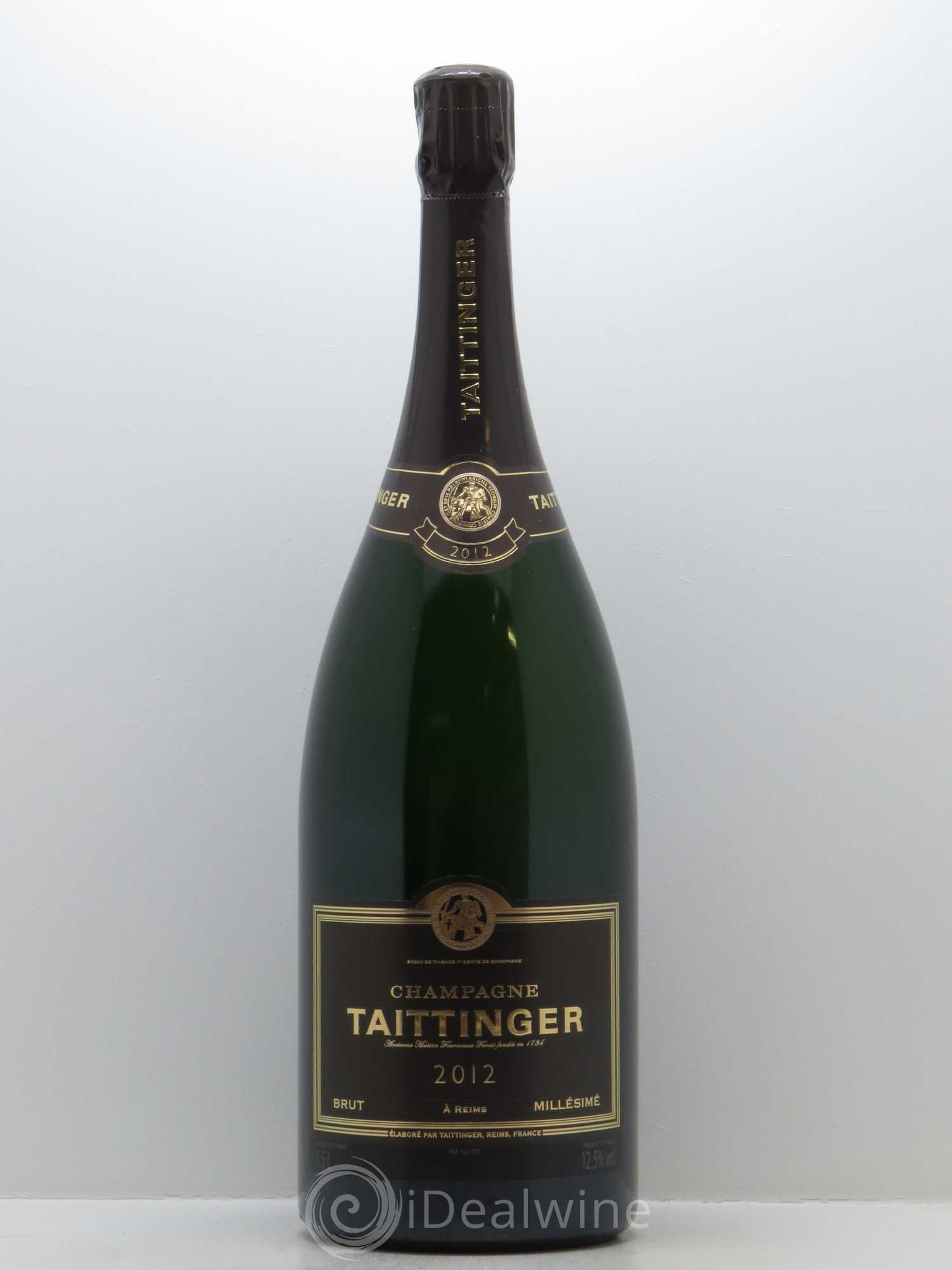 Brut Taittinger  2012 - Lot de 1 Magnum