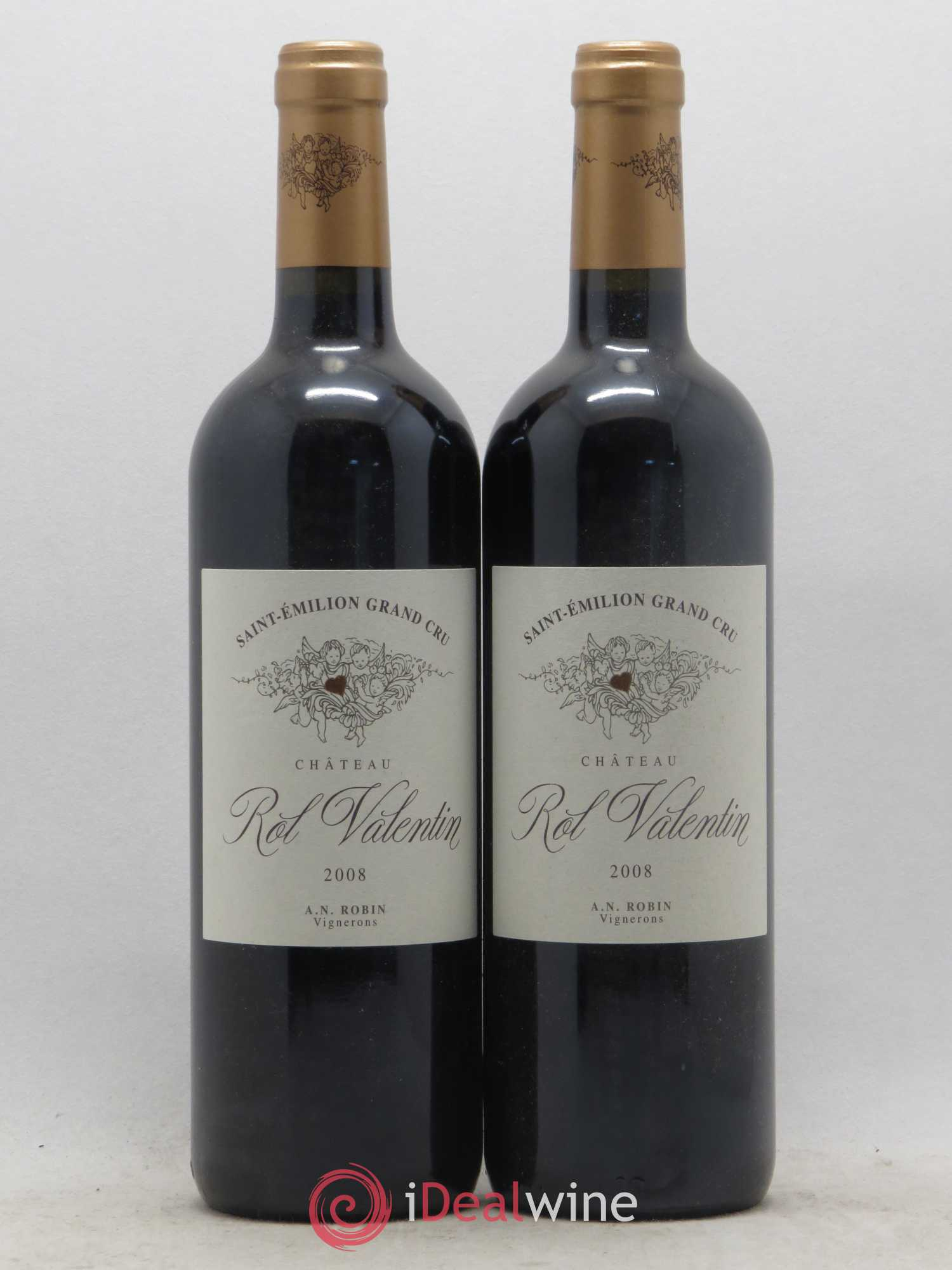 Château Rol Valentin Grand Cru  2008 - Lot of 2 Bottles