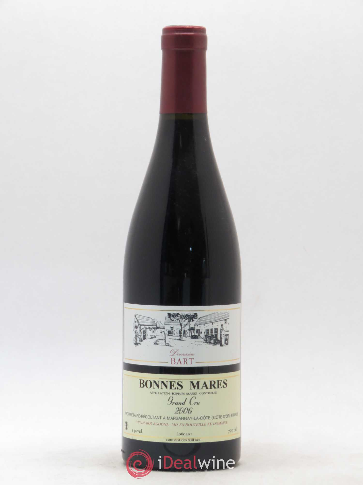 Bonnes-Mares Grand Cru Domaine Bart  2006 - Lot of 1 Bottle