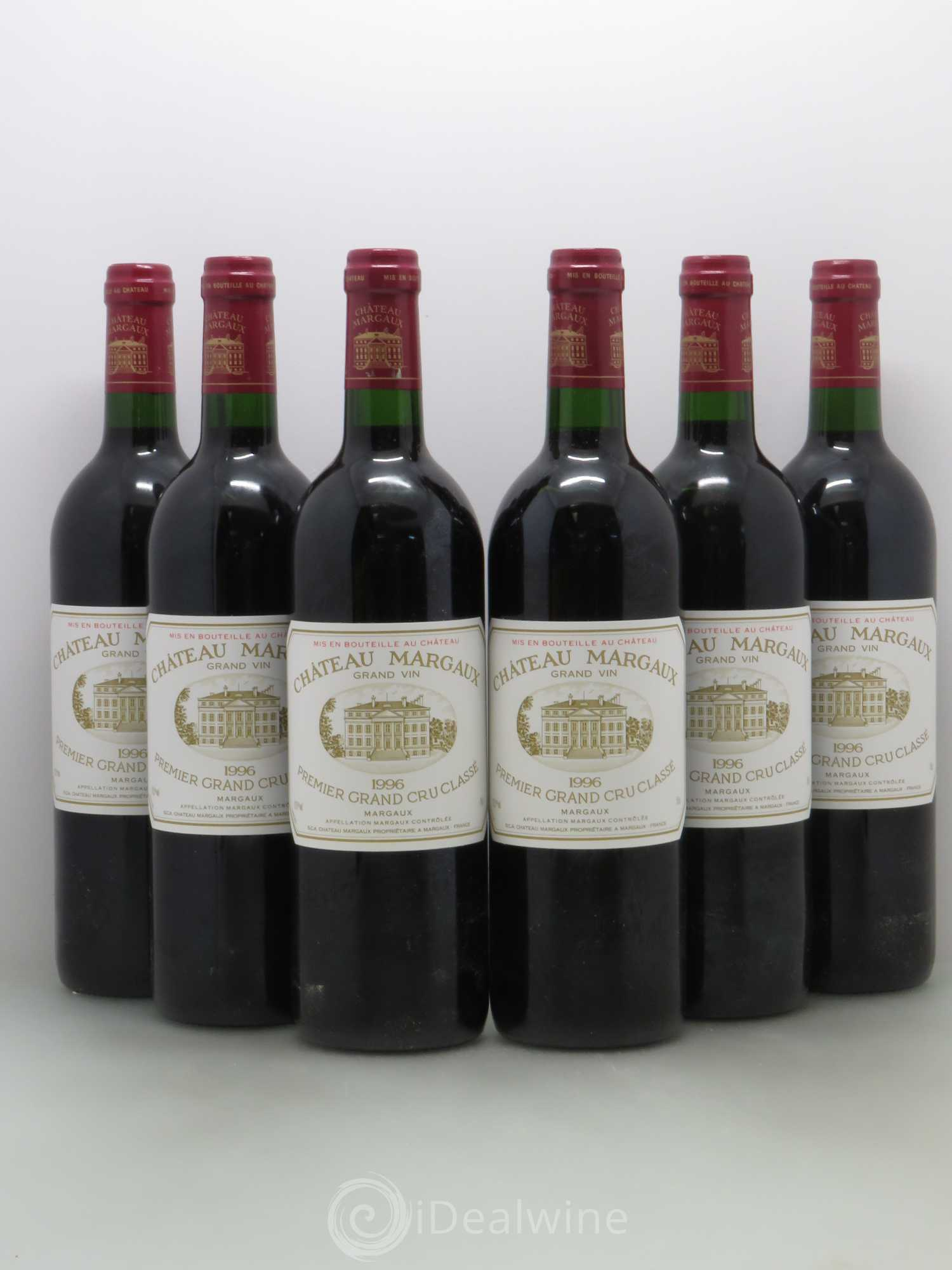 Buy ch teau margaux 1er grand cru class 1996 lot 1648 for Buy chateaubriand