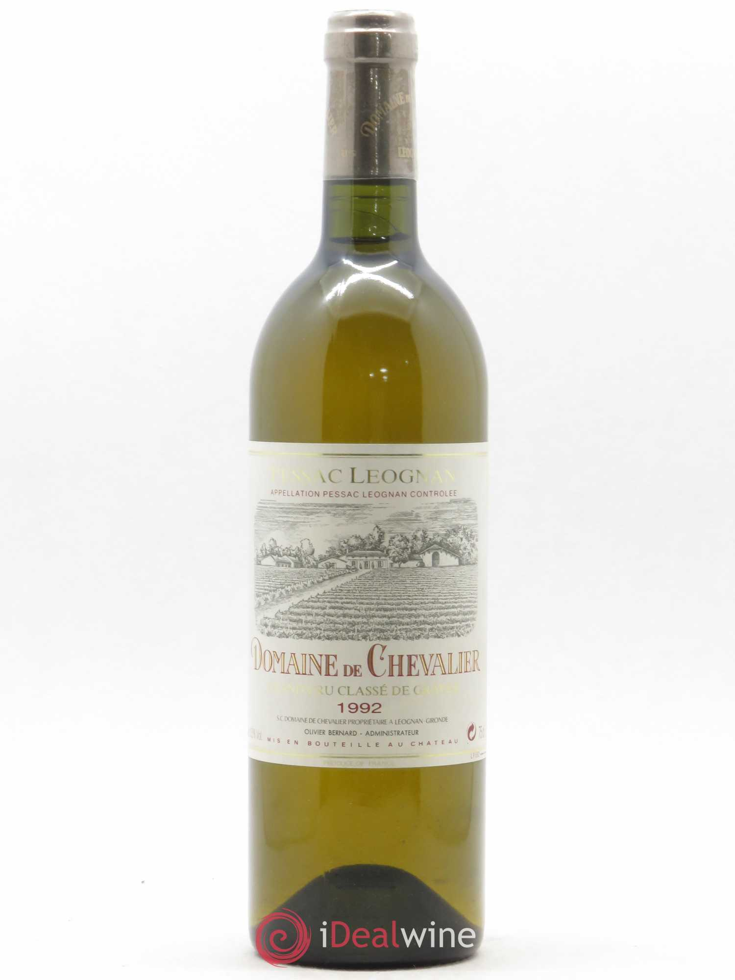 Domaine de Chevalier Cru Classé de Graves  1992 - Lot of 1 Bottle