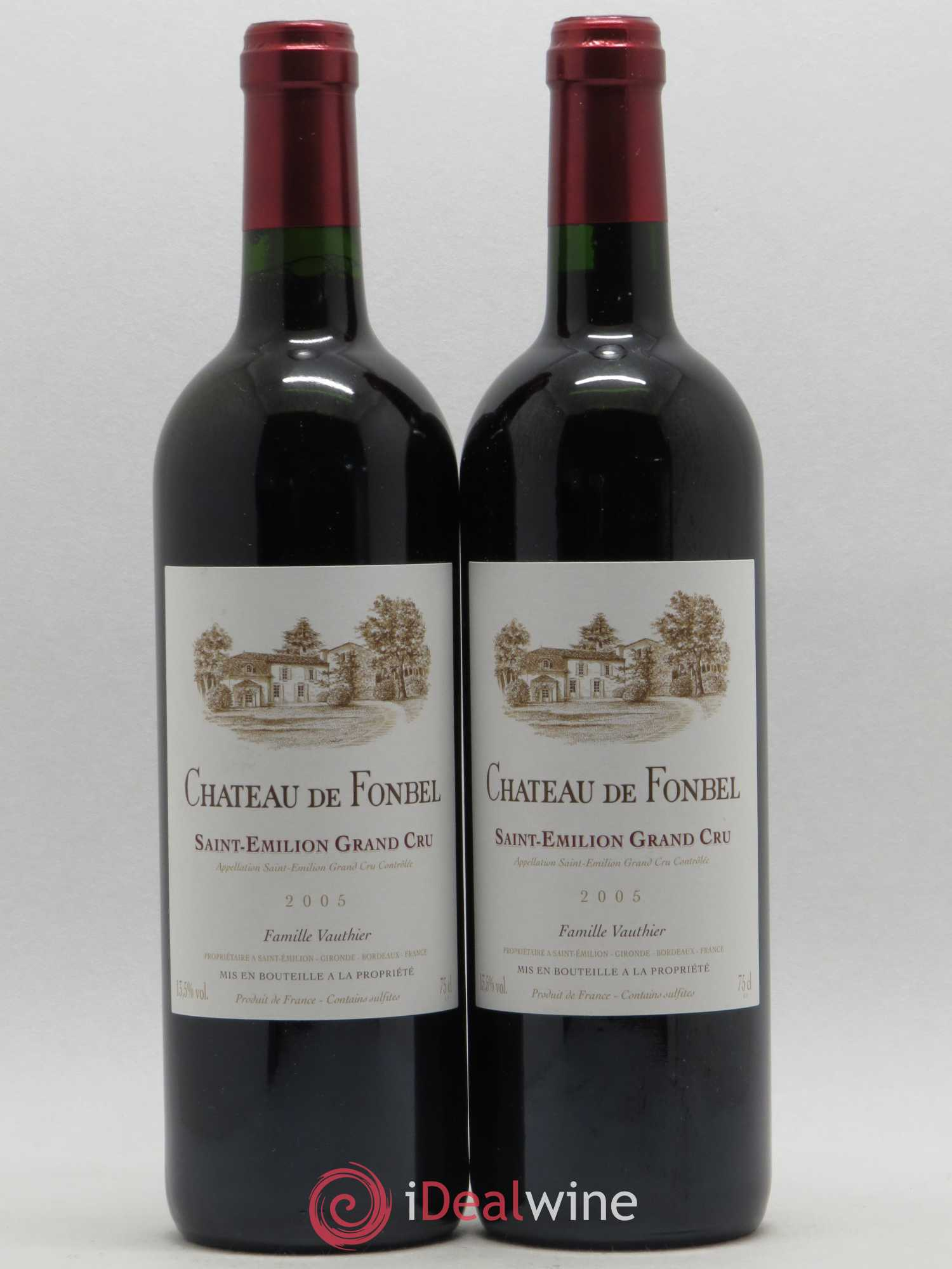 Château de Fonbel  2005 - Lot of 2 Bottles