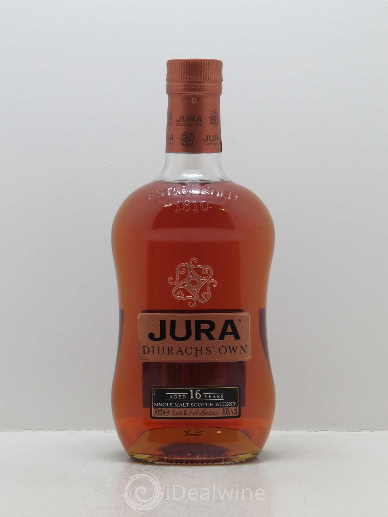 Whisky Jura Aged 16 Years   - Lot de 1 Bouteille