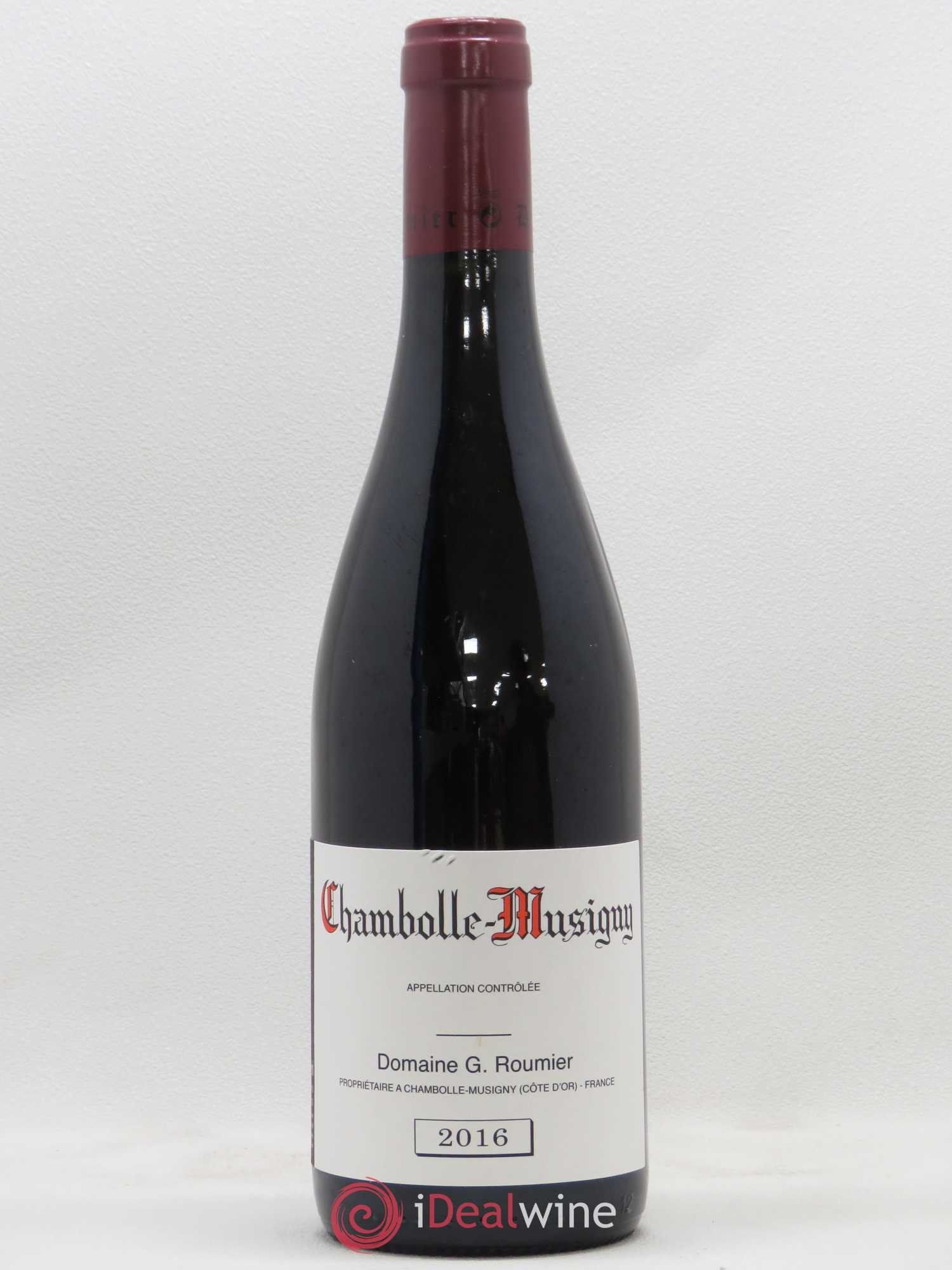 Chambolle-Musigny Georges Roumier (Domaine)  2016 - Lot de 1 Bouteille