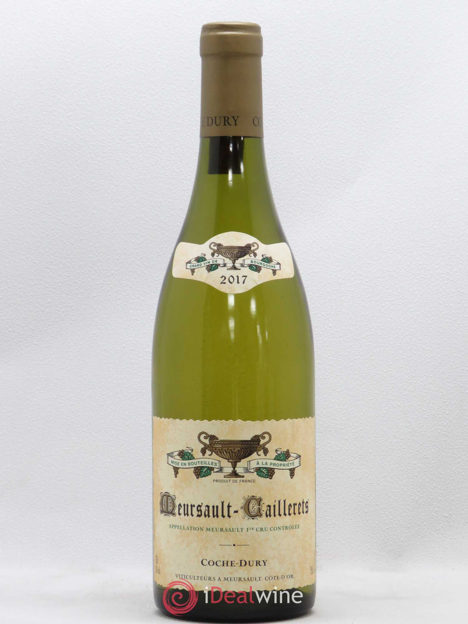Meursault 1er Cru Caillerets Coche Dury (Domaine)  2017 - Lot of 1 Bottle