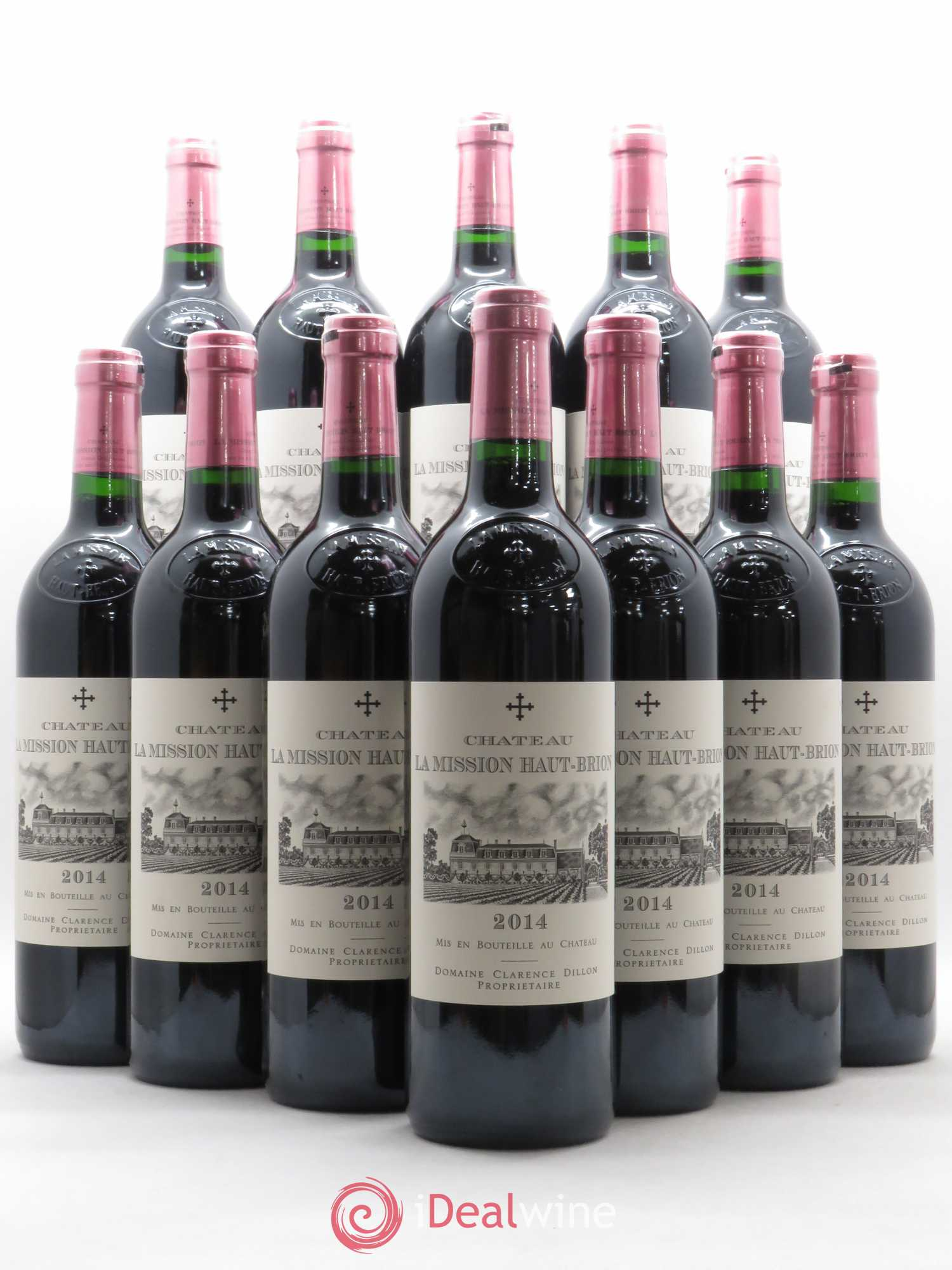Château La Mission Haut-Brion Cru Classé de Graves  2014 - Lot of 12 Bottles