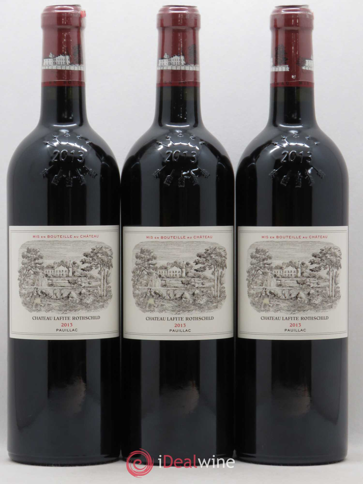 Château Lafite Rothschild 1er Grand Cru Classé  2013 - Lot of 3 Bottles