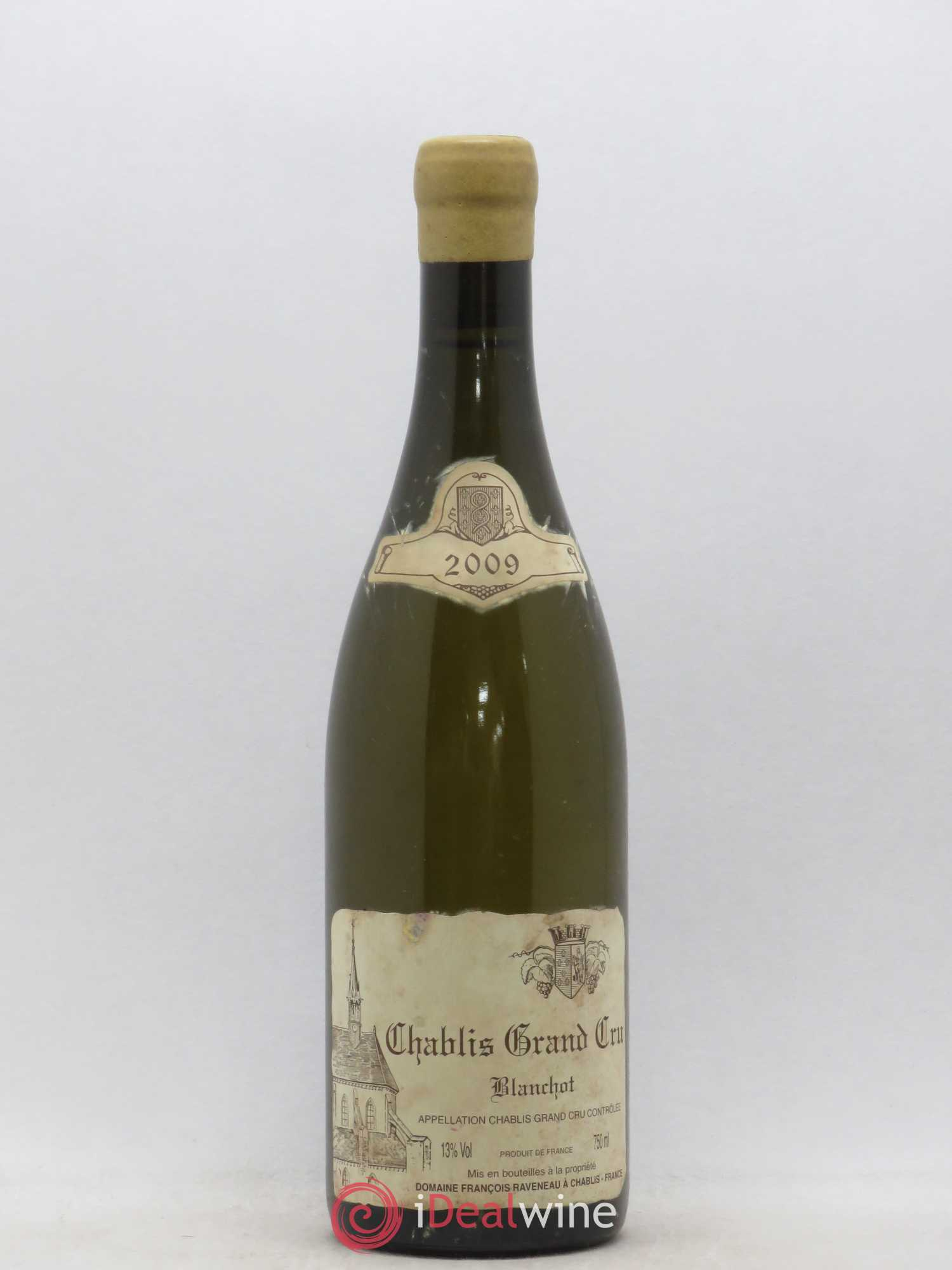 Chablis Grand Cru Blanchot Raveneau (Domaine)  2009 - Lot of 1 Bottle