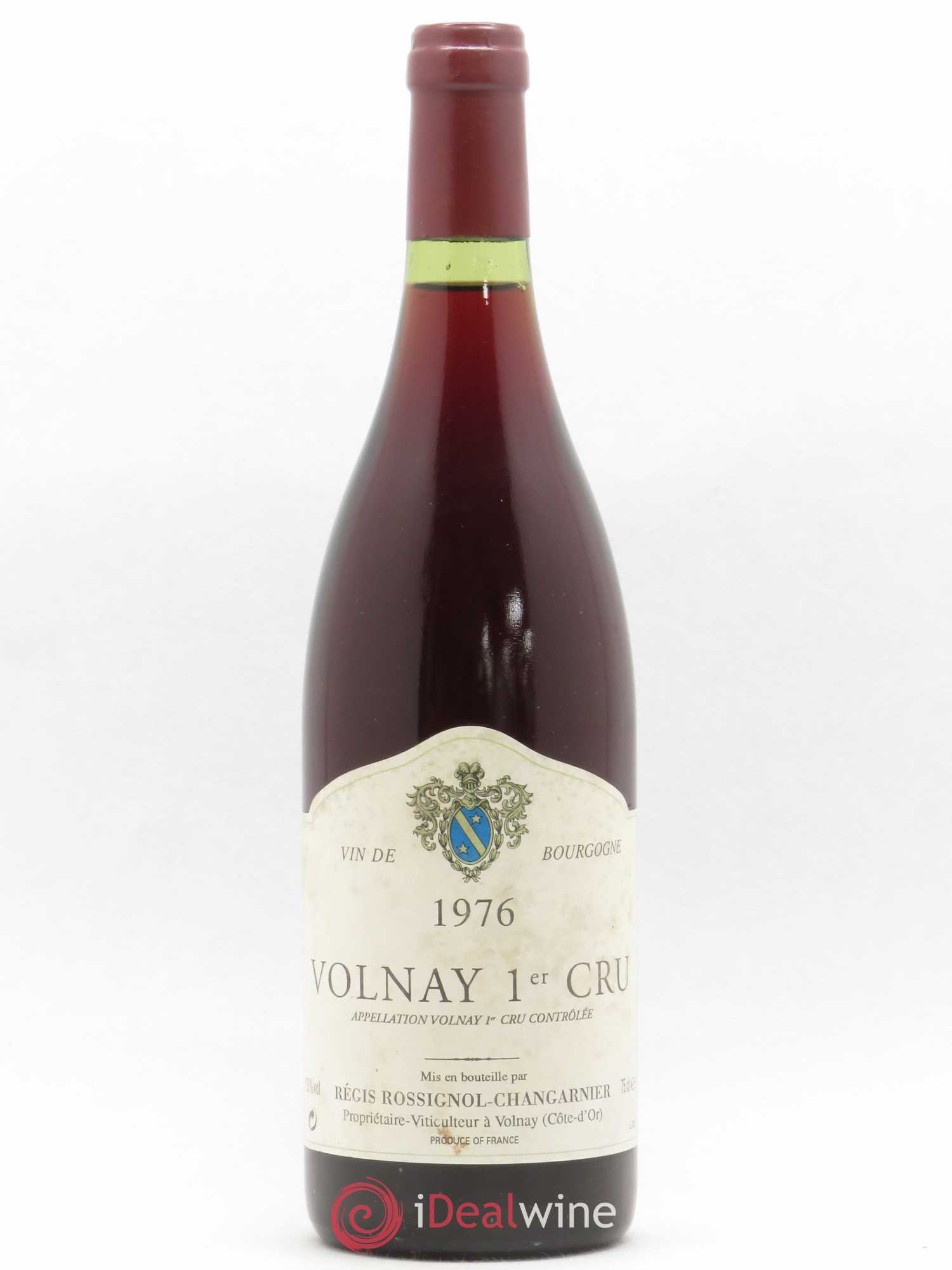 Volnay 1er Cru Rossignol Changarnier 1976 - Lot of 1 Bottle
